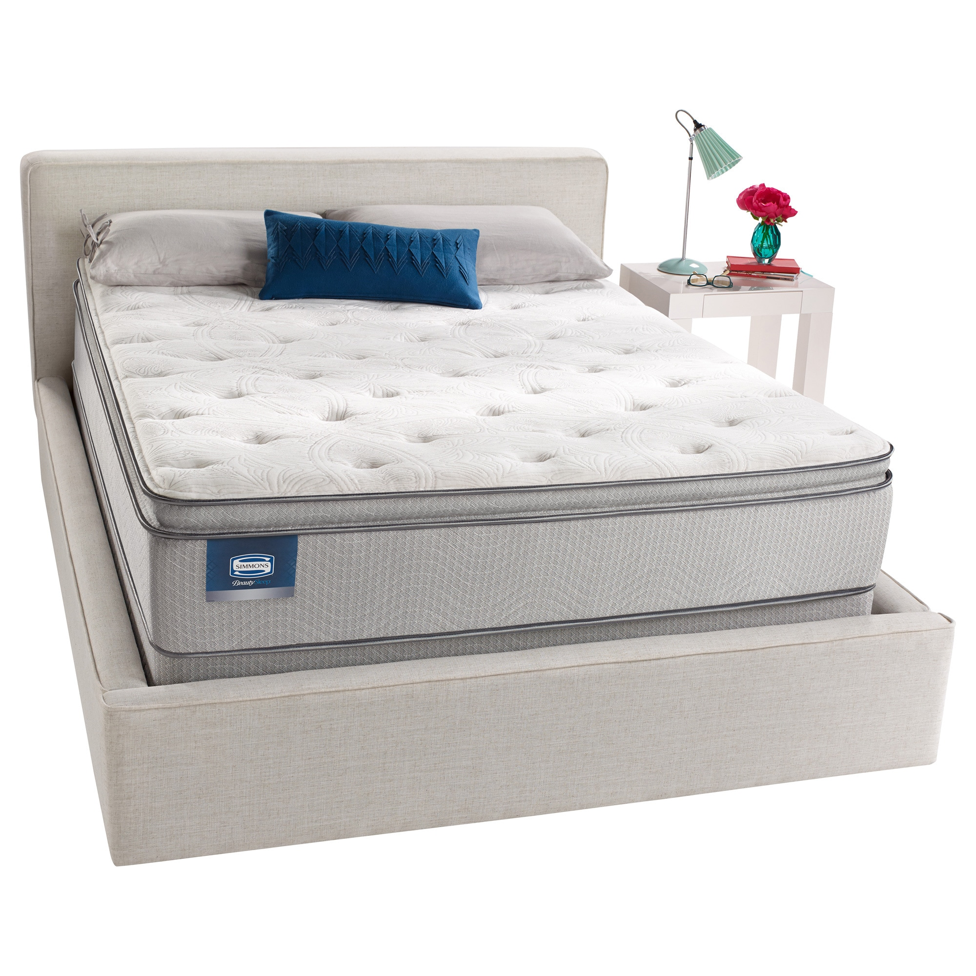 simmons beautysleep titus pillow top full size mattress set free