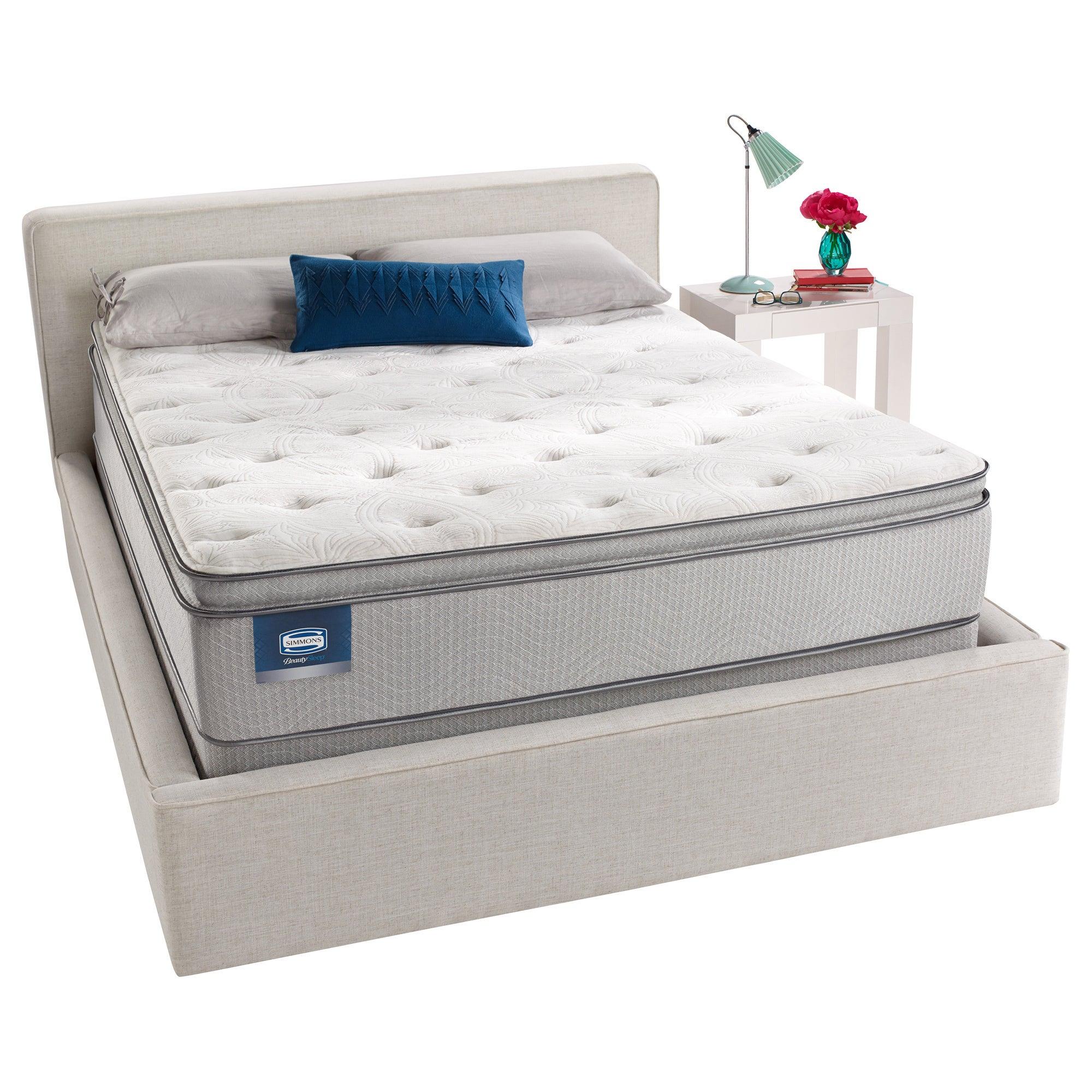 Simmons BeautySleep Titus Pillow Top Queen size Mattress Set
