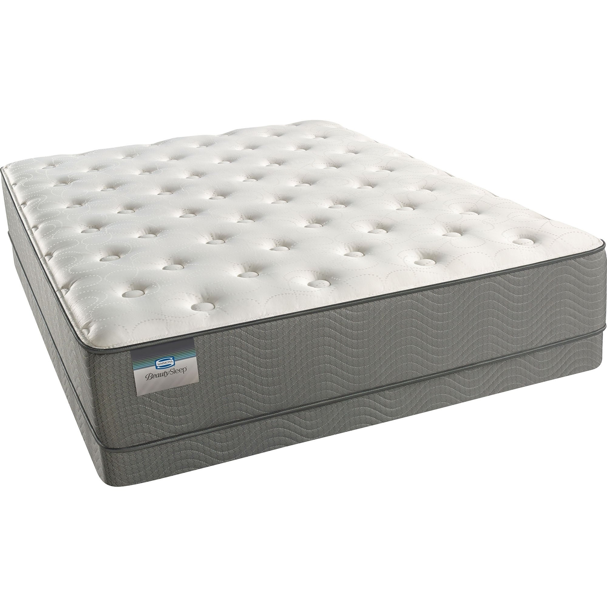Simmons Beautyrest Wagner Plush King Size Mattress Set On Free Shipping Today 8229574