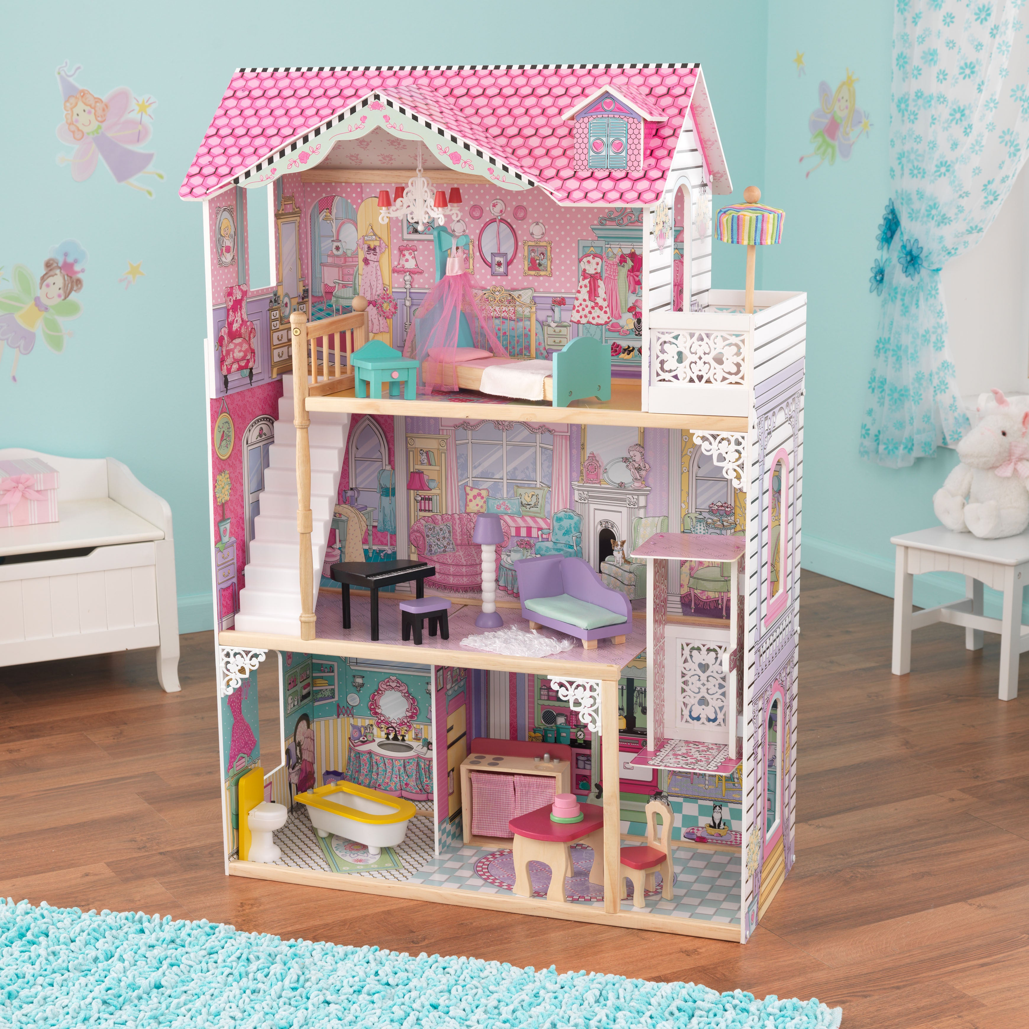 Shop Kidkraft Annabelle Dollhouse Free Shipping Today Overstock