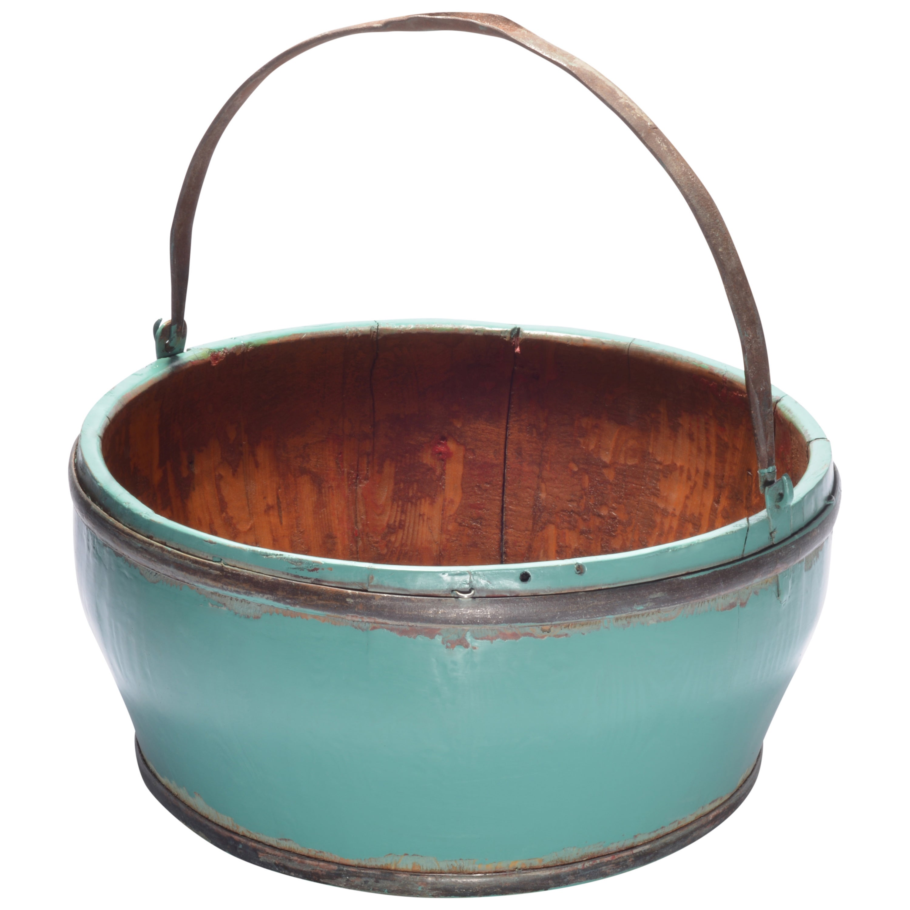 Wooden Vintage Kitchen Bucket - Free Shipping Today - Overstock.com -  15562338