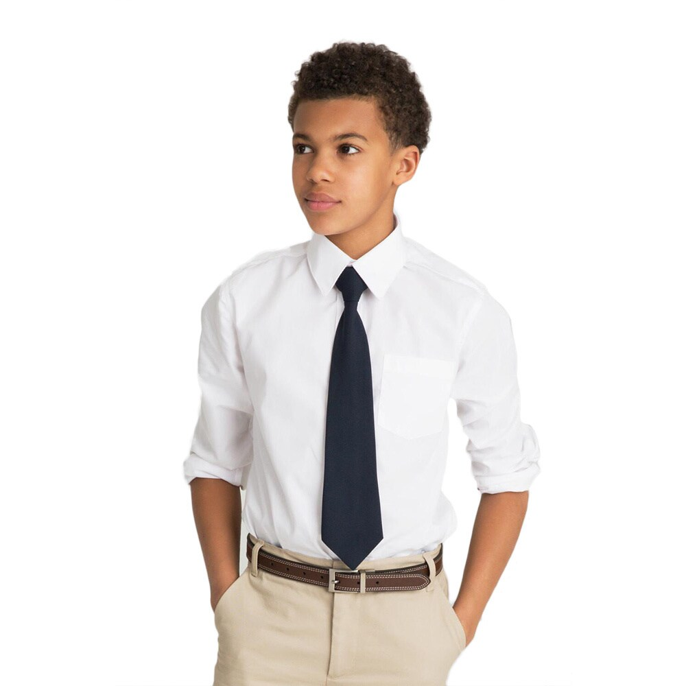 e6e0394660a Shop French Toast Boys Long Sleeve Classic Dress Shirt - Free Shipping On  Orders Over  45 - Overstock - 8237077