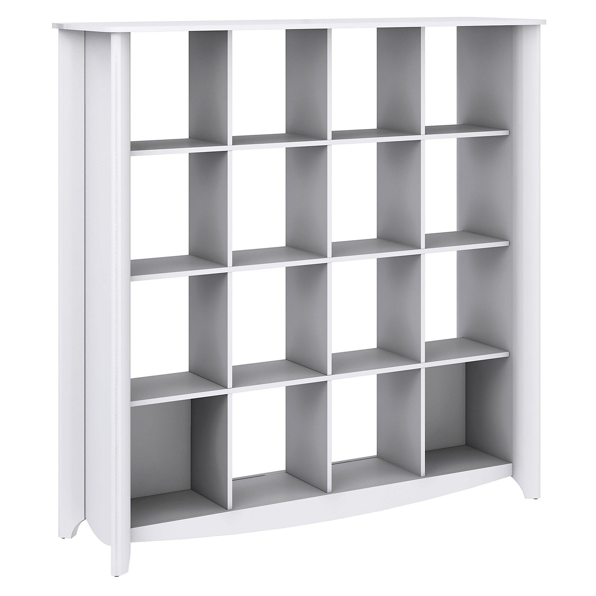Bush Furniture Aero 16 Cube Bookcase/Room Divider - Free Shipping Today -  Overstock.com - 15565471
