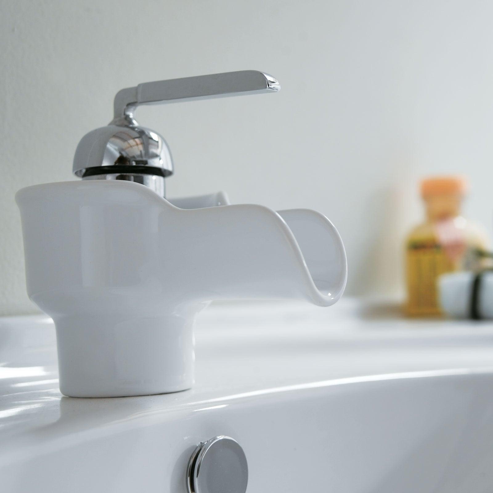 Elite 4074A46C High Temperature Grade A Ceramic Bathroom Sink With ...