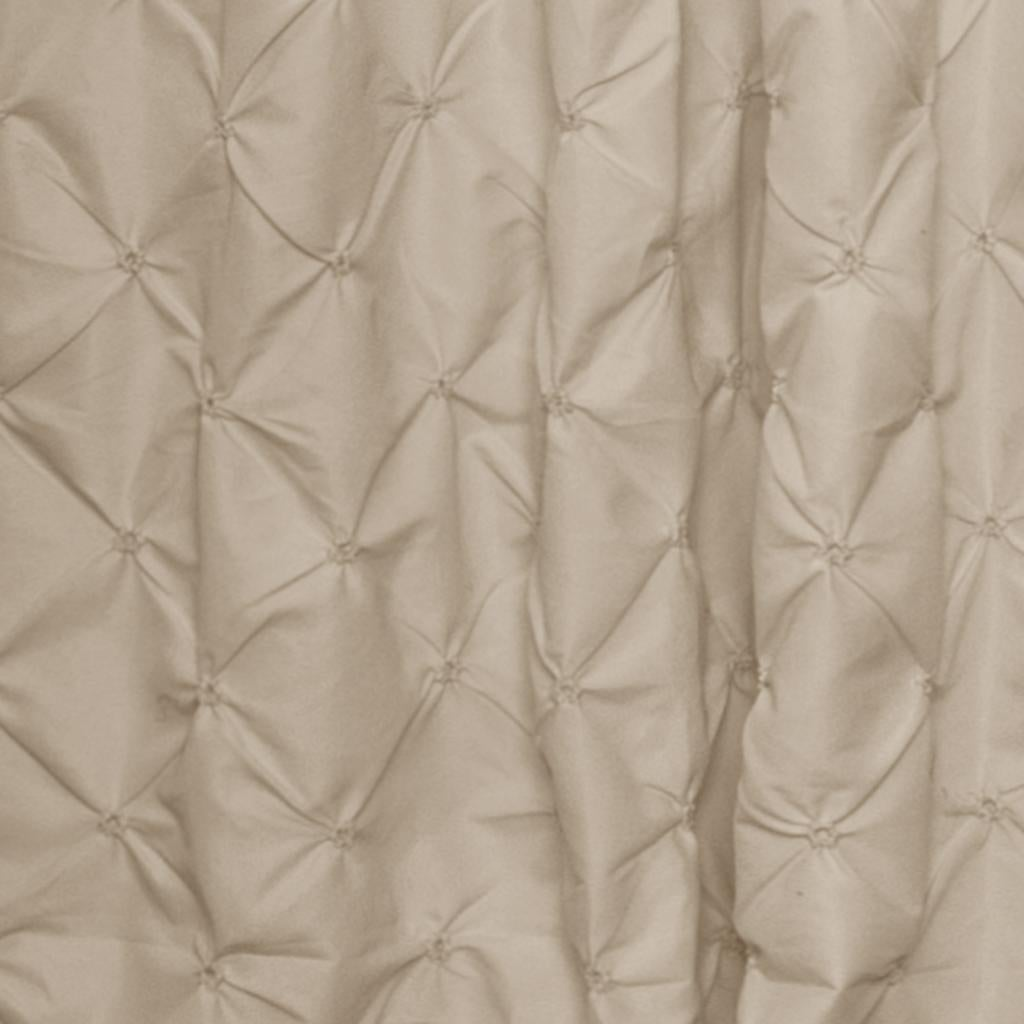 Lush Decor Lake Como Taupe 84 Inch Curtain Panel Free Shipping Today 8238286