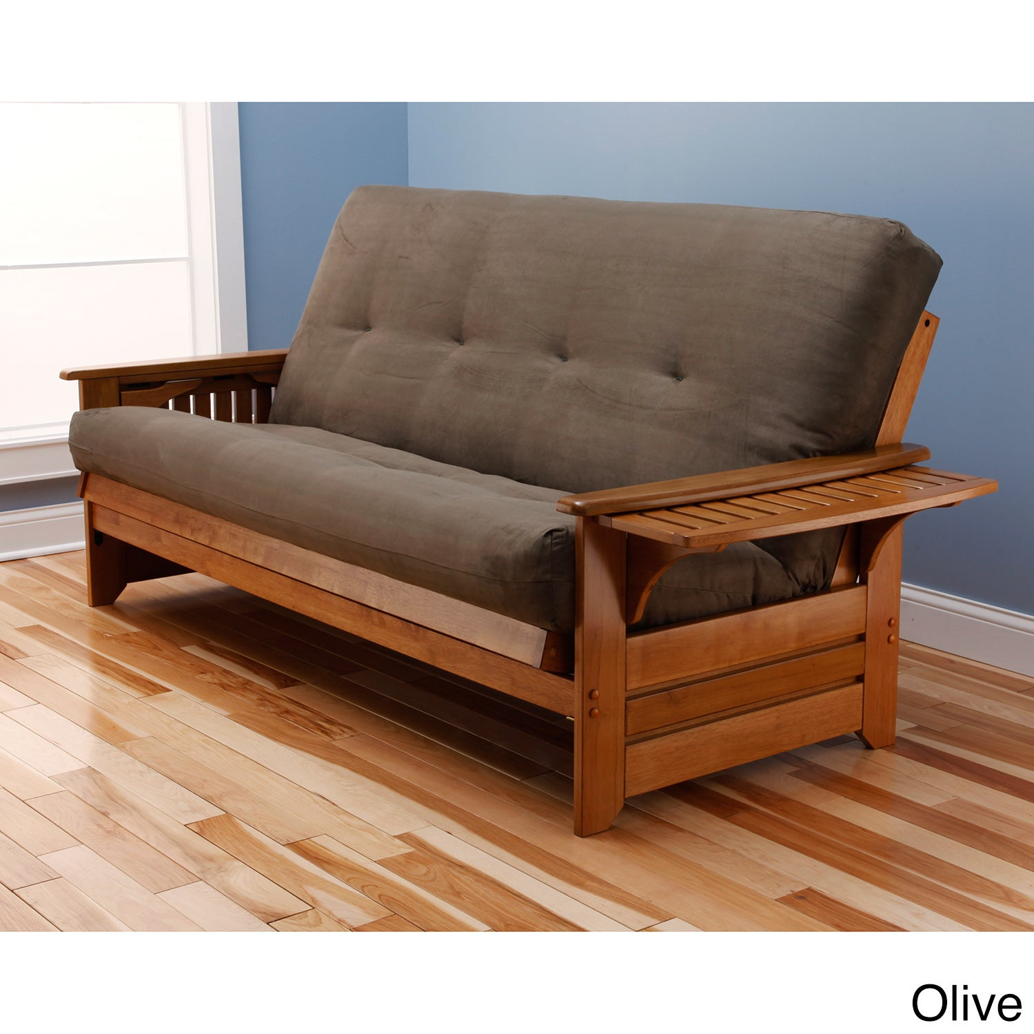 futon wood wooden transformable furniture size full solid frame ideas capricornradio