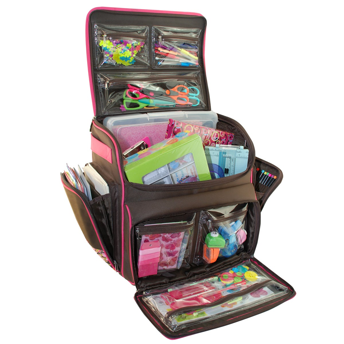 Shop Everything Mary Rolling Scrapbook Tote - Free Shipping Today -  Overstock.com - 8239191 65c6702d00