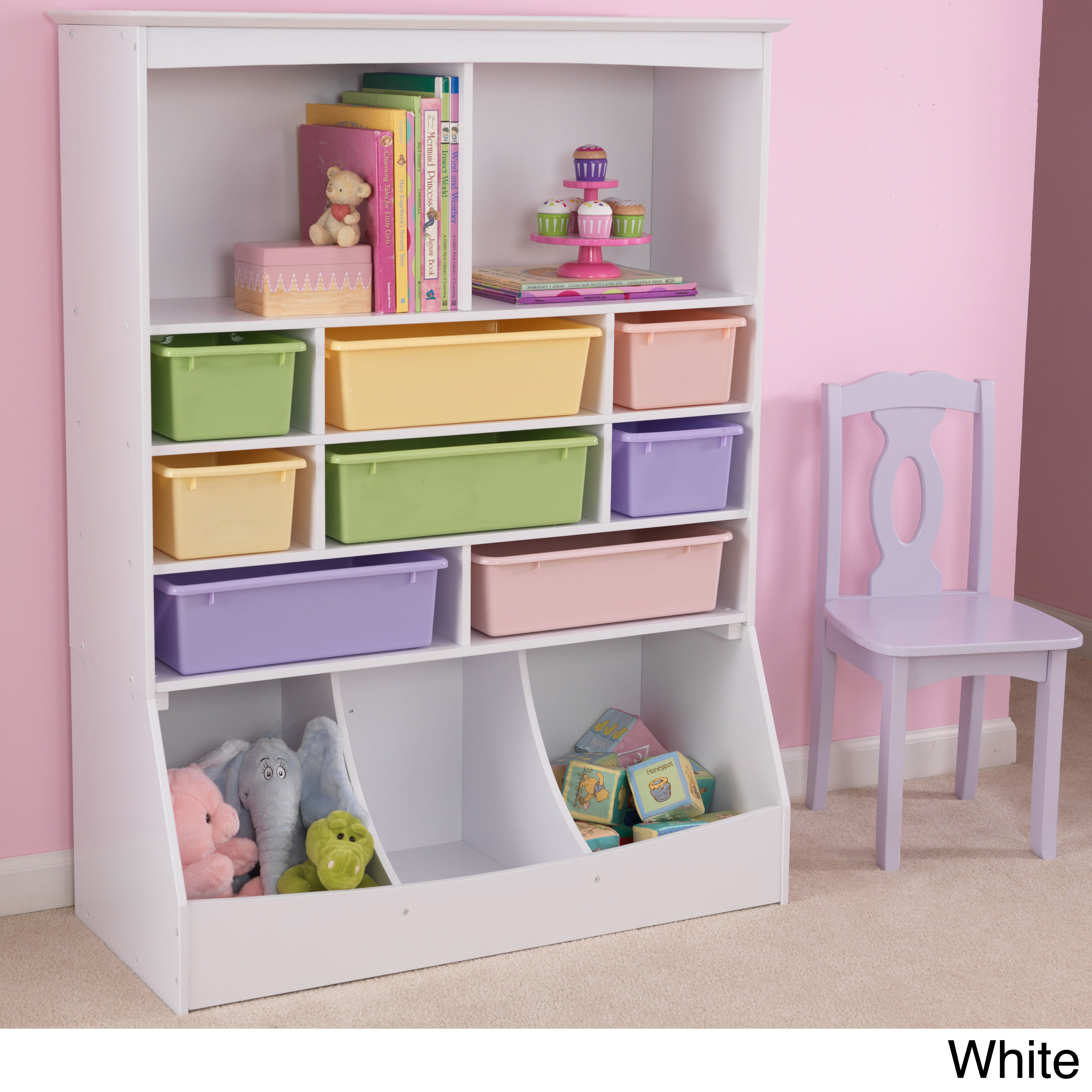 Wall Storage Units Kidkraft Kid's Wall Storage Unit  Free Shipping Today  Overstock