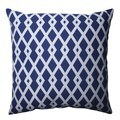 Pillow Perfect Graphic Ultramarine 16.5-inch Throw Pillow