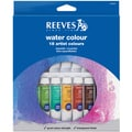 Reeves Watercolor Paint 10ml 18/Pkg-Assorted Colors