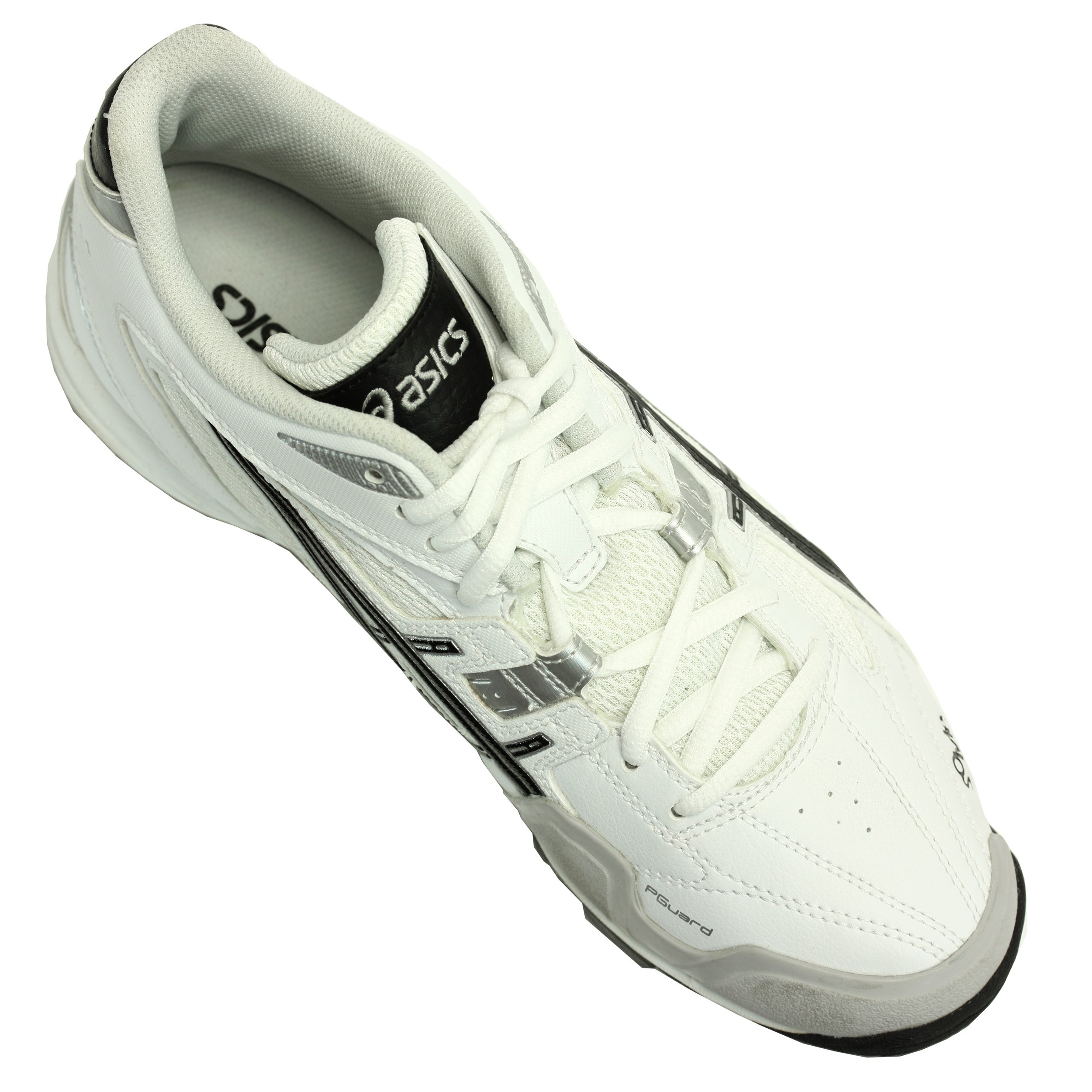 8f99c39418 Shop Asics Men's 'Gel V' White Mid-cut Field Shoes - Free Shipping Today -  Overstock - 8251730