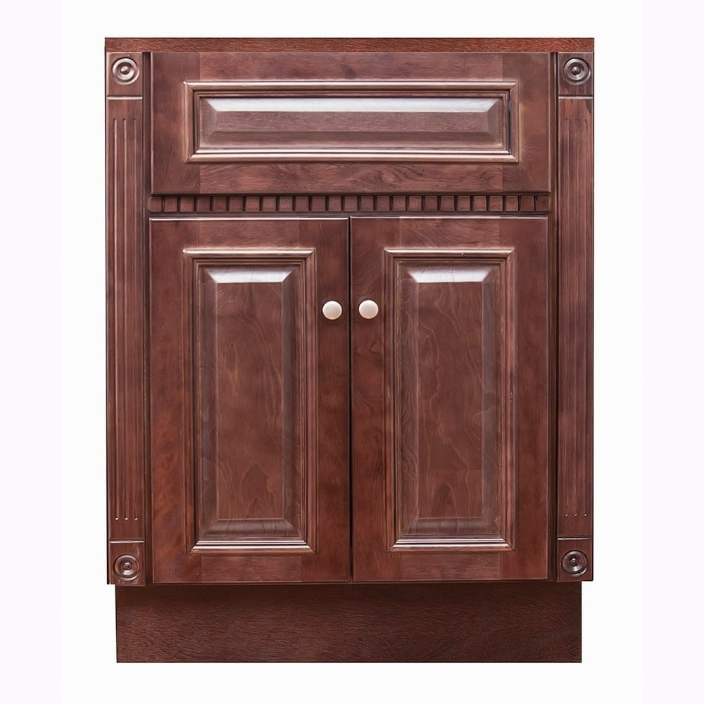 Cherry Bathroom Vanity | Shop 24 X18 Cherry Bathroom Vanity Free Shipping Today Overstock