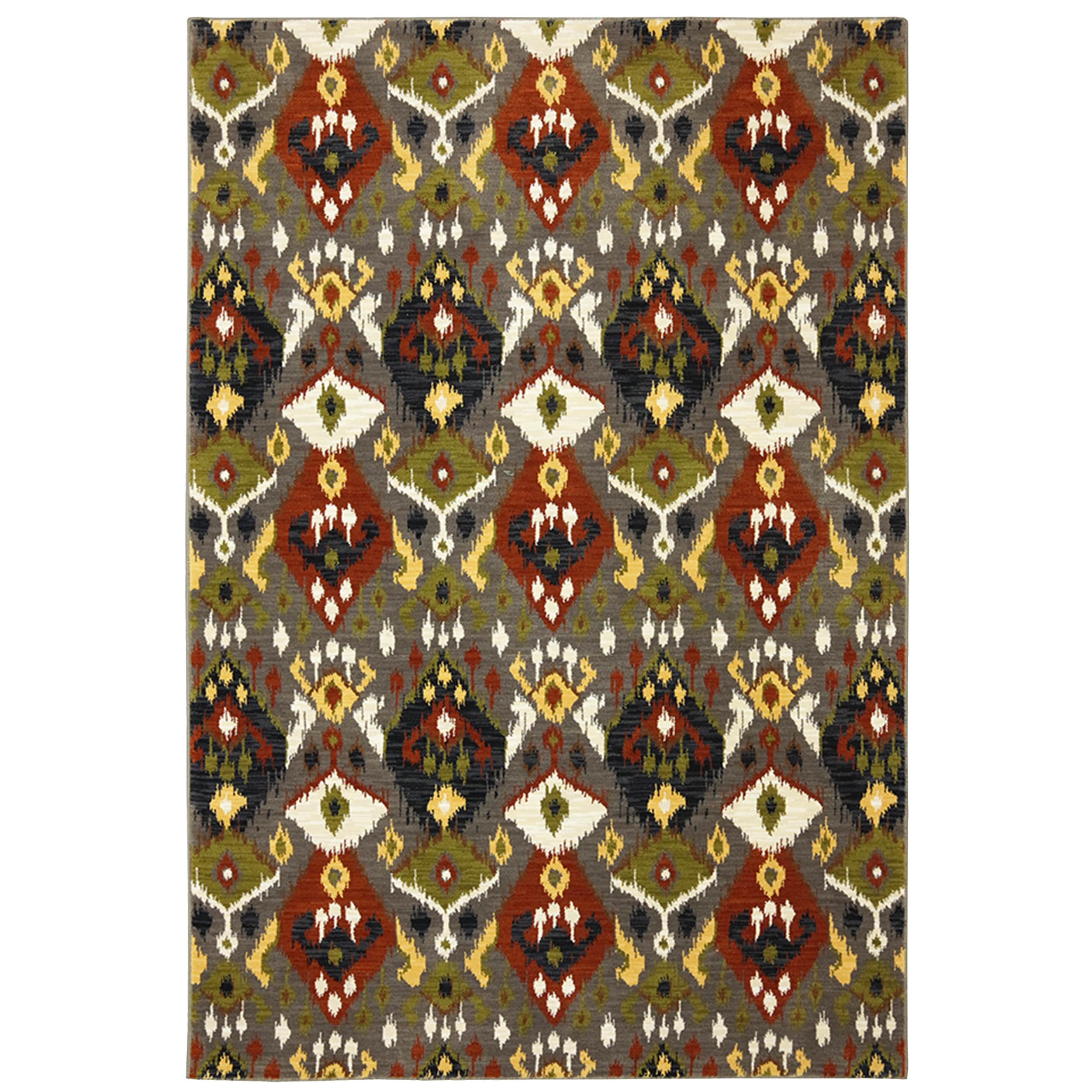 Shop Karastan Panache Switchback Bungee Cord Rug (8 0 x 10 0) - Free  Shipping Today - Overstock.com - 8278776 070dcc453f