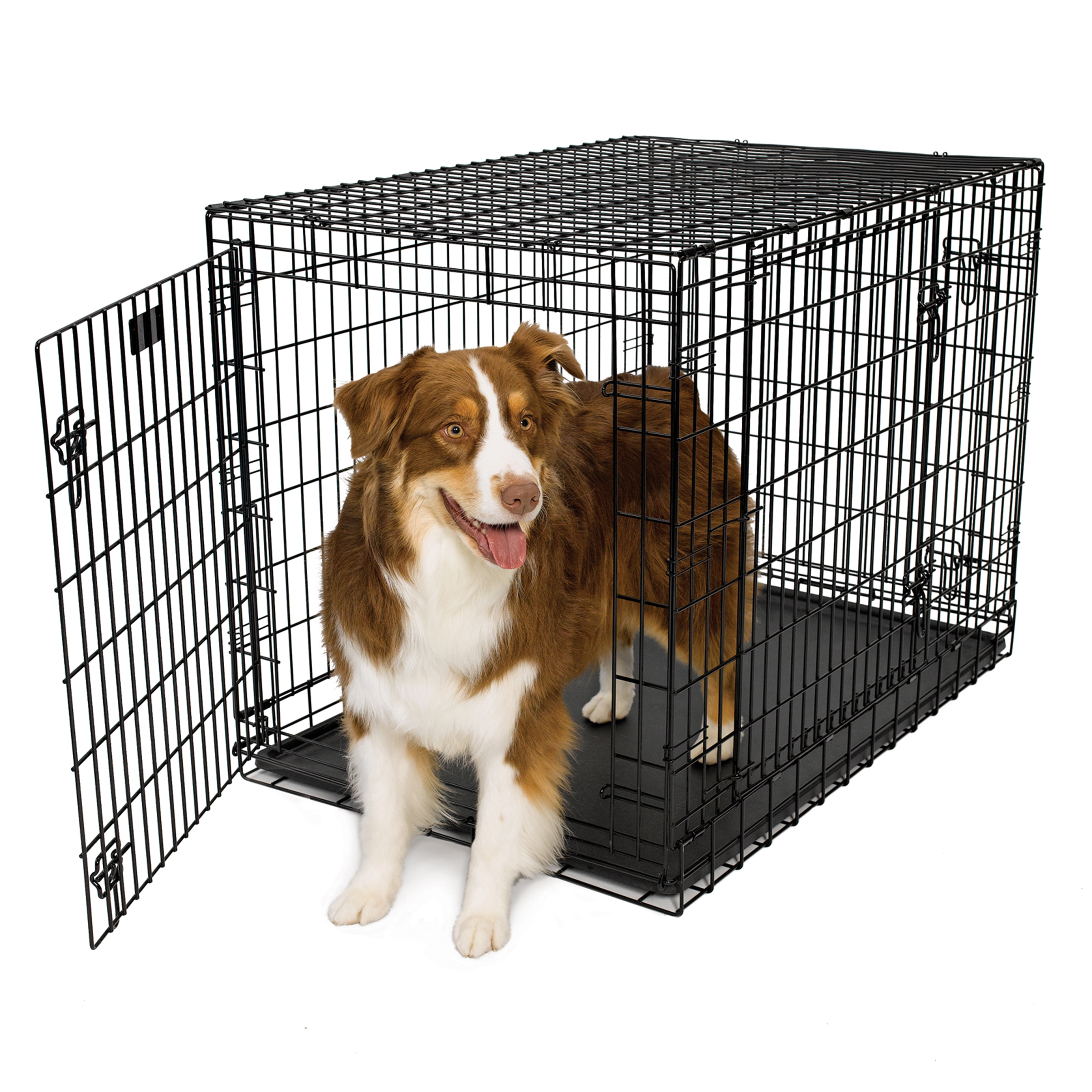 Midwest Ultima Pro Black Steel 2 Door Dog Crate Free Shipping