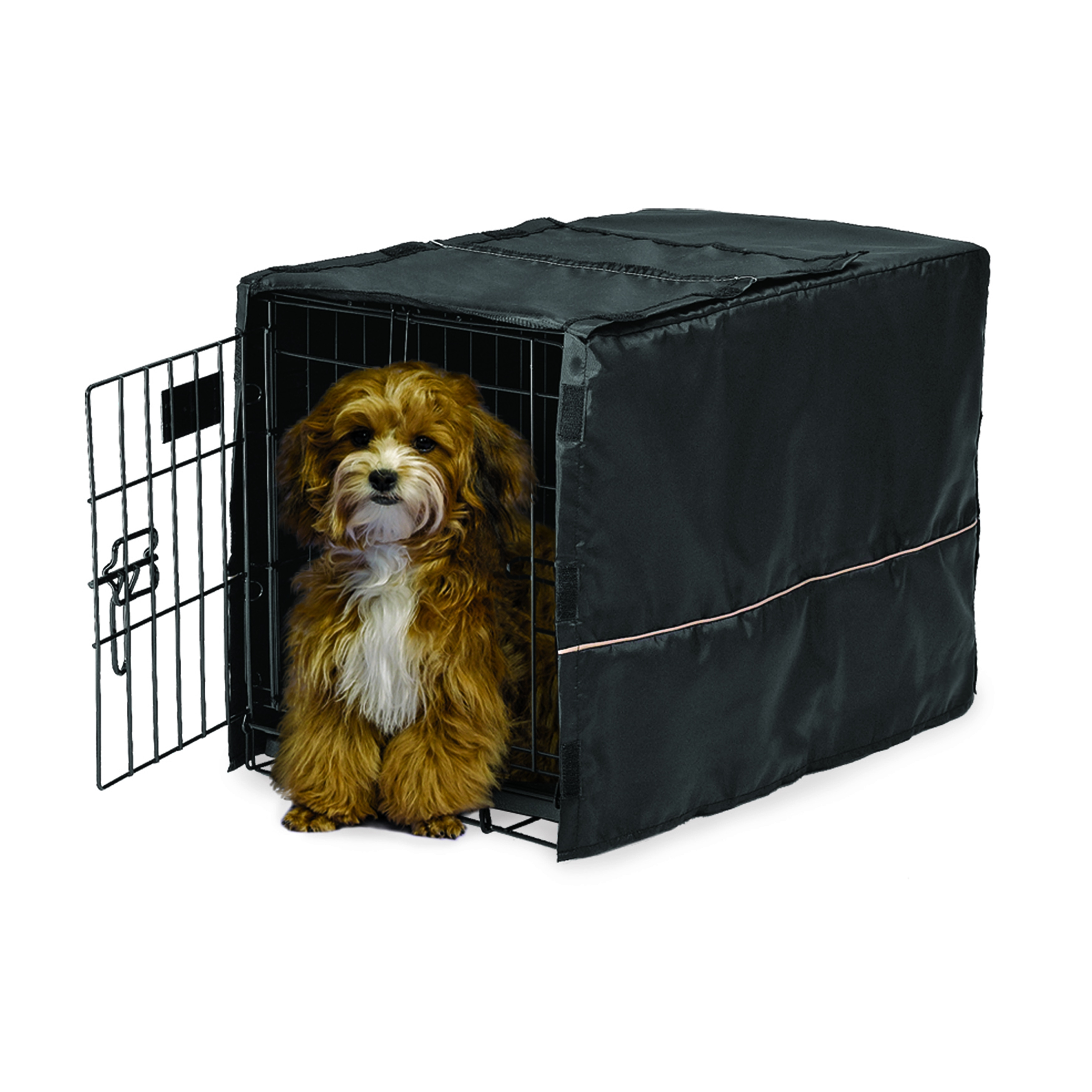 Midwest Quiet Time Black Crate Cover  Free Shipping On
