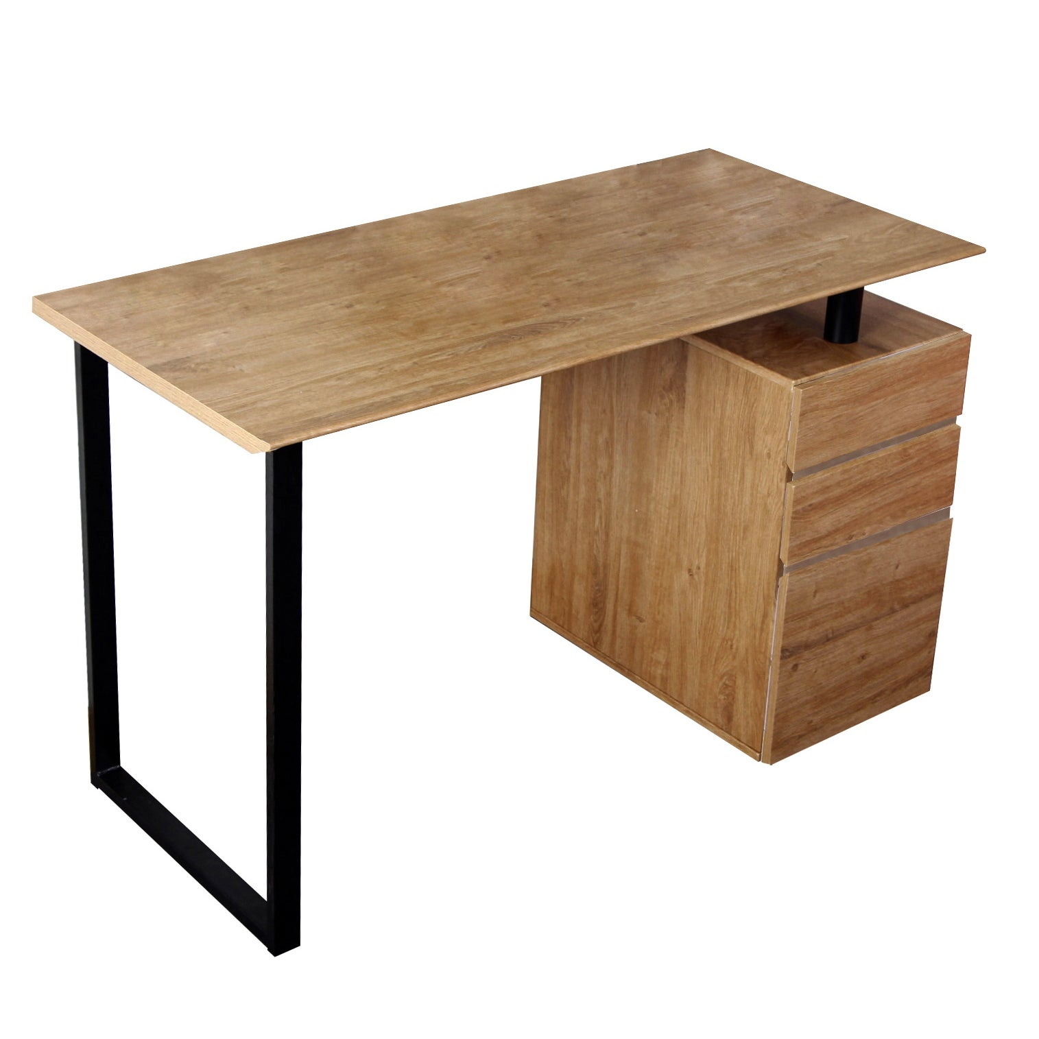 Shop Modern Design Side Cabinet Compact Computer Desk   Free Shipping Today    Overstock.com   8290533