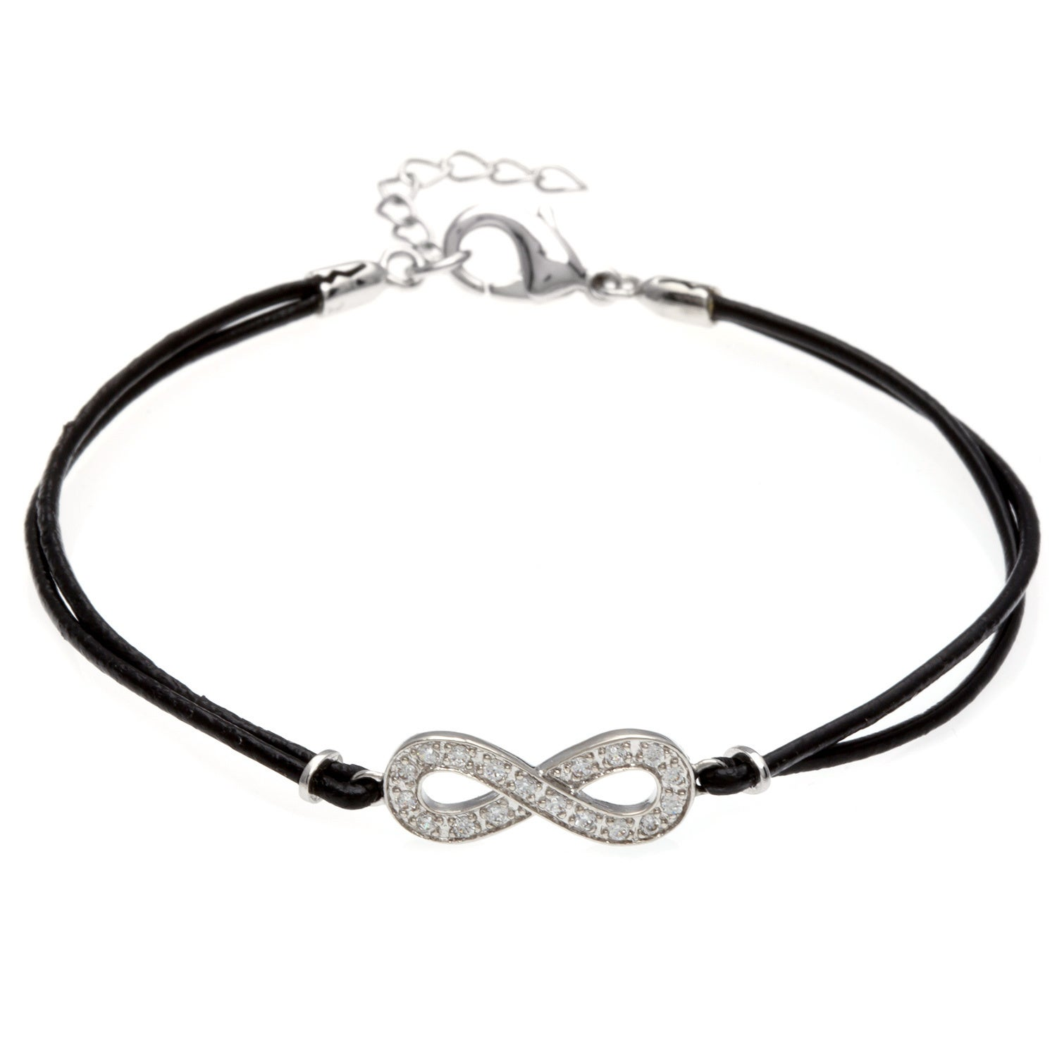 infinity aurorehavenne silver bracelet jewel n aurore havenne minimalist collection products packshot bijou