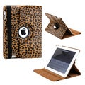 Gearonic 360 Degree Rotating PU Leather Smart Cover for iPad 2/ 3/ 4