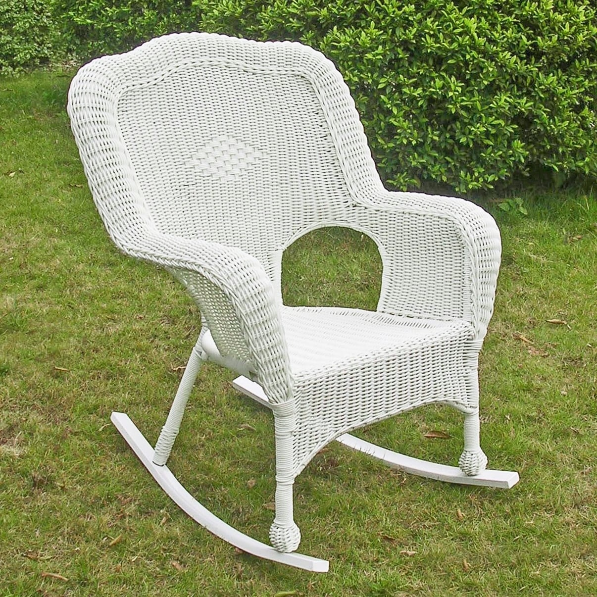 Shop International Caravan Chelsea Resin Wicker Porch Rocker (Set Of 2)    On Sale   Free Shipping Today   Overstock.com   8300383