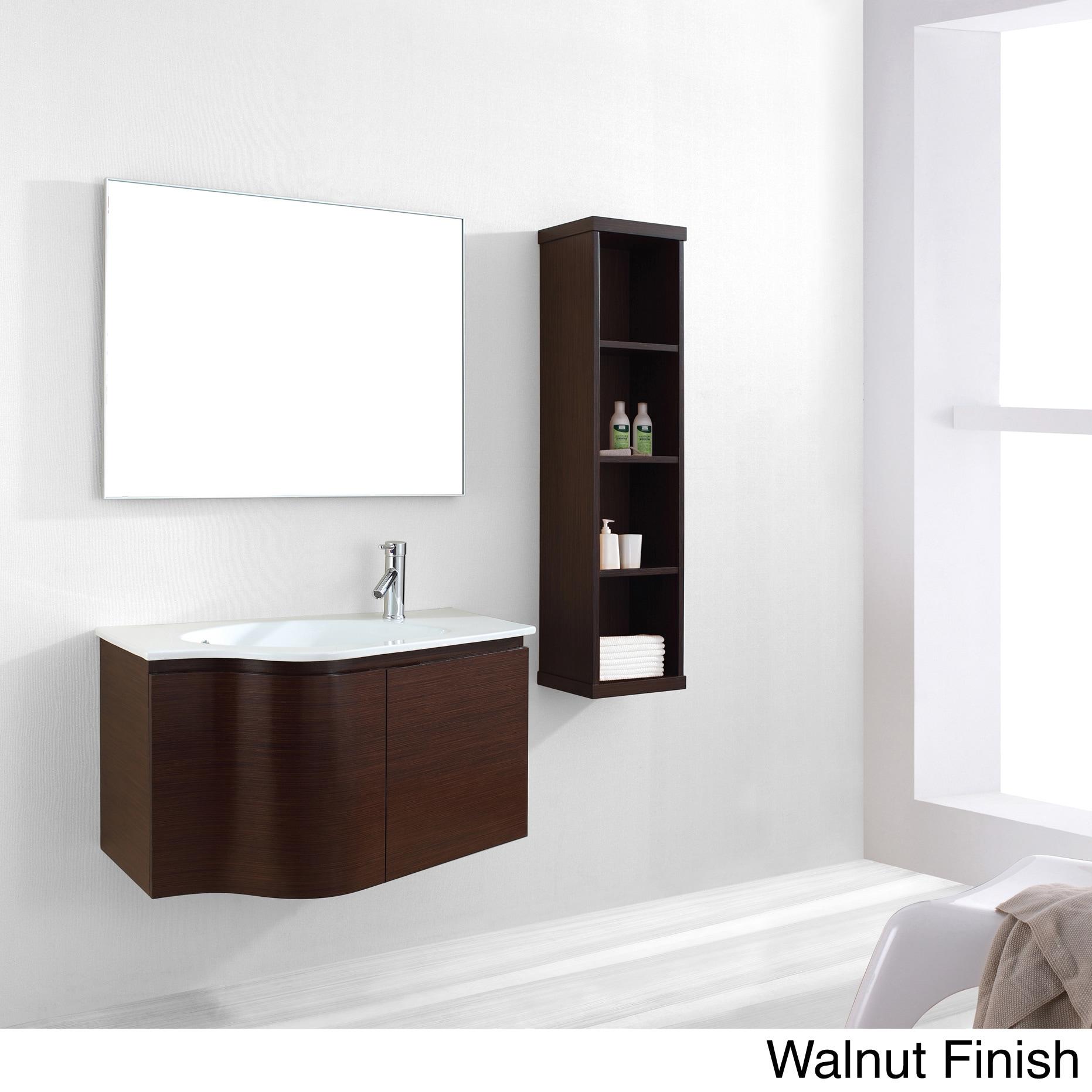 Shop Virtu USA Roselle 36-inch Single Sink Bathroom Vanity Set ... on english traditional bathrooms, construction bathrooms, old-fashioned white bathrooms, vintage bathrooms, christmas bathrooms, spa-style bathrooms, english wallpaper for bathrooms, black painted bathrooms, john saladino bathrooms, english bathroom ideas,
