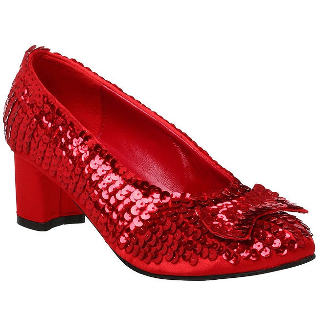 fe5d6e01d23d Shop Funtasma Women's 'Dorothy-01' Red Sequined Low-heel Shoes - Free  Shipping On Orders Over $45 - Overstock - 8300615