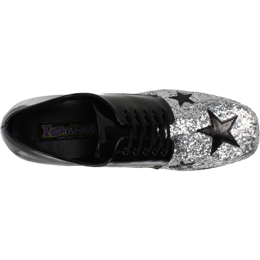 5c825b7cc0ba Shop Funtasma Men s  Glamrock-02  Glitter Stacked Platform Disco Shoes -  Free Shipping Today - Overstock - 8300675