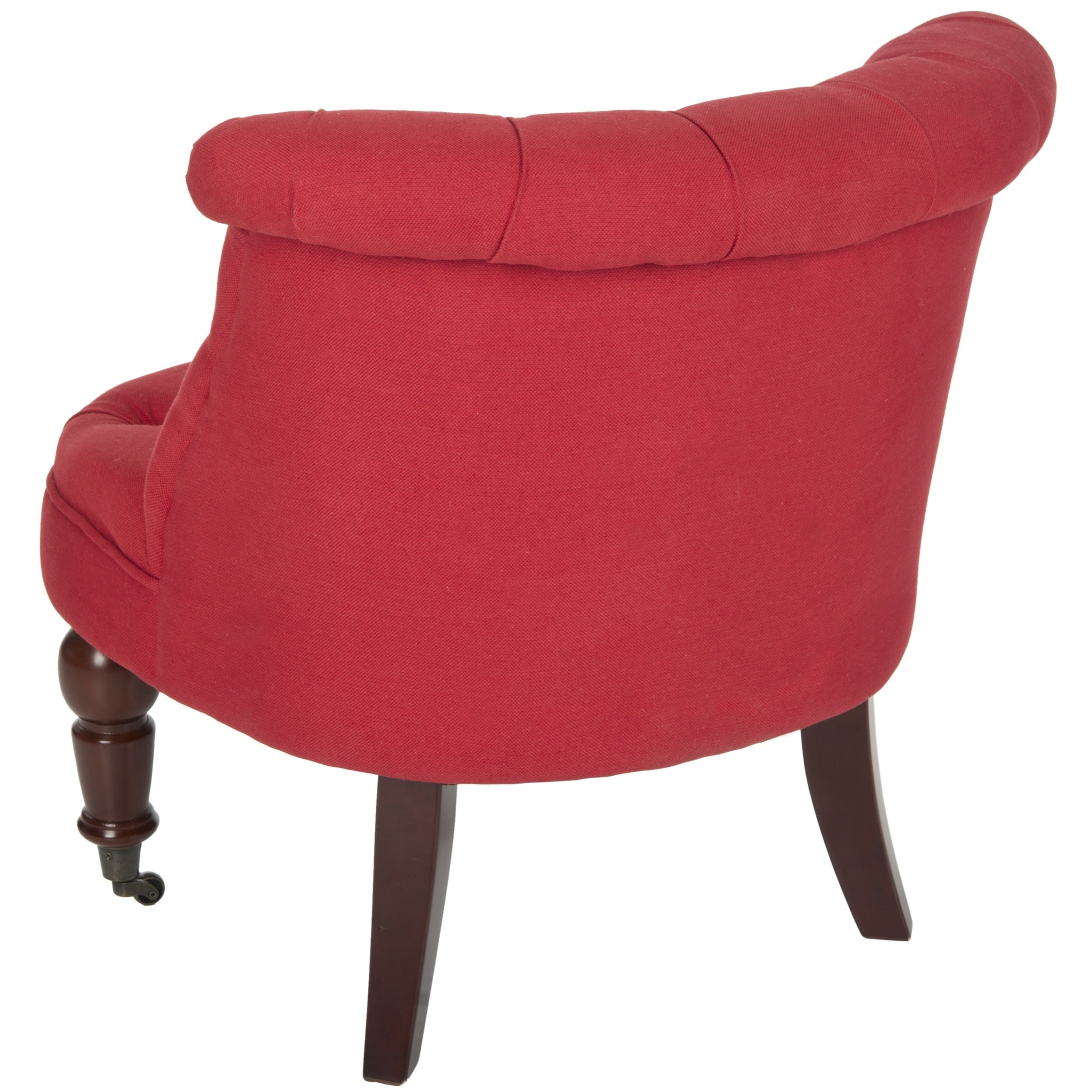 Charmant Shop Safavieh En Vogue Carlin Cranberry Tufted Chair   Free Shipping Today    Overstock.com   8307000