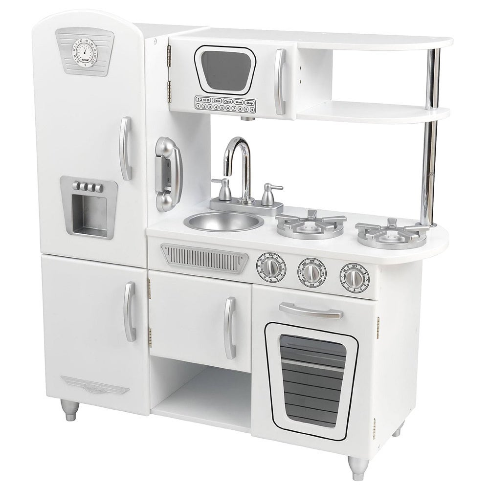 shop kidkraft white vintage kitchen free shipping today overstockcom 8316436 - Kidkraft Vintage Kitchen
