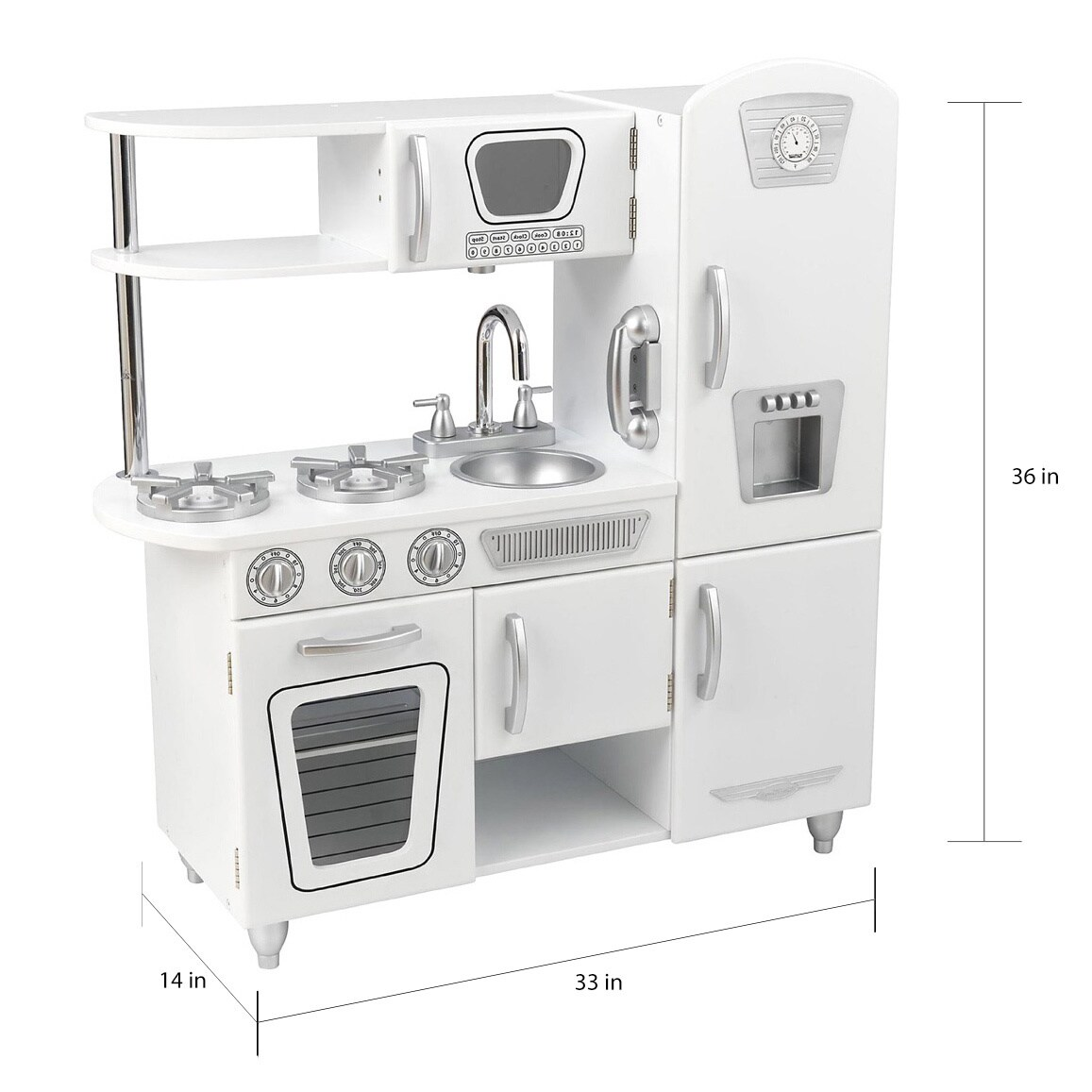 Kidkraft Vintage Kitchen White | Shop Kidkraft White Vintage Kitchen Free Shipping Today