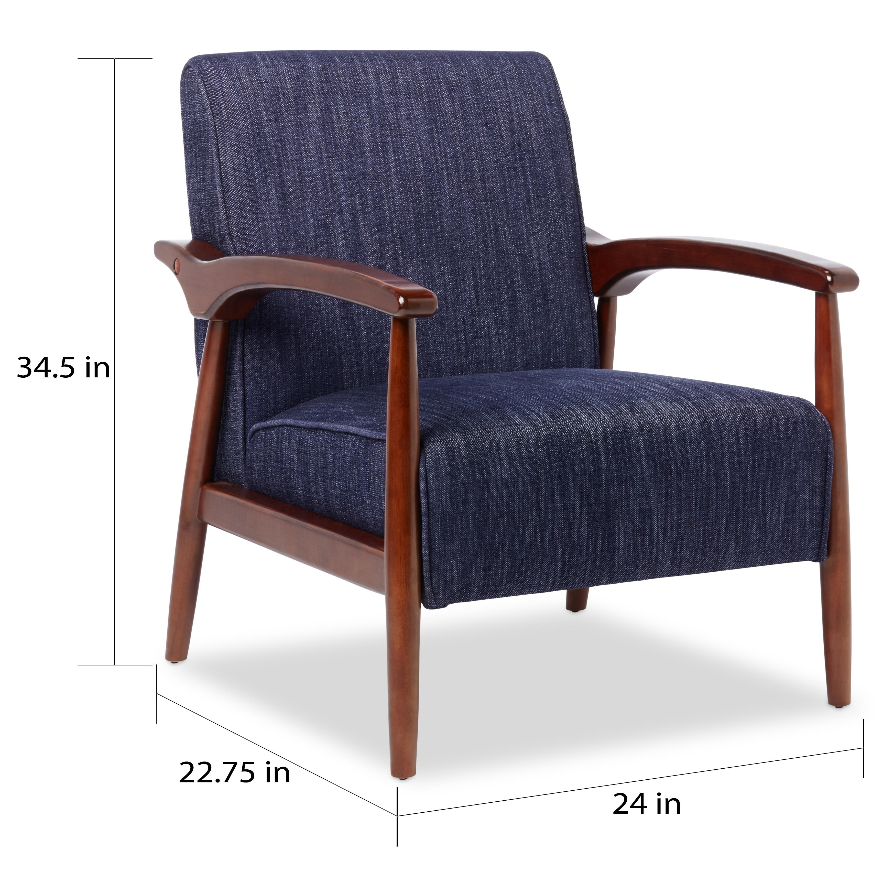 Shop Strick U0026 Bolton Gracie Retro Arm Chair   Free Shipping Today    Overstock.com   8326960