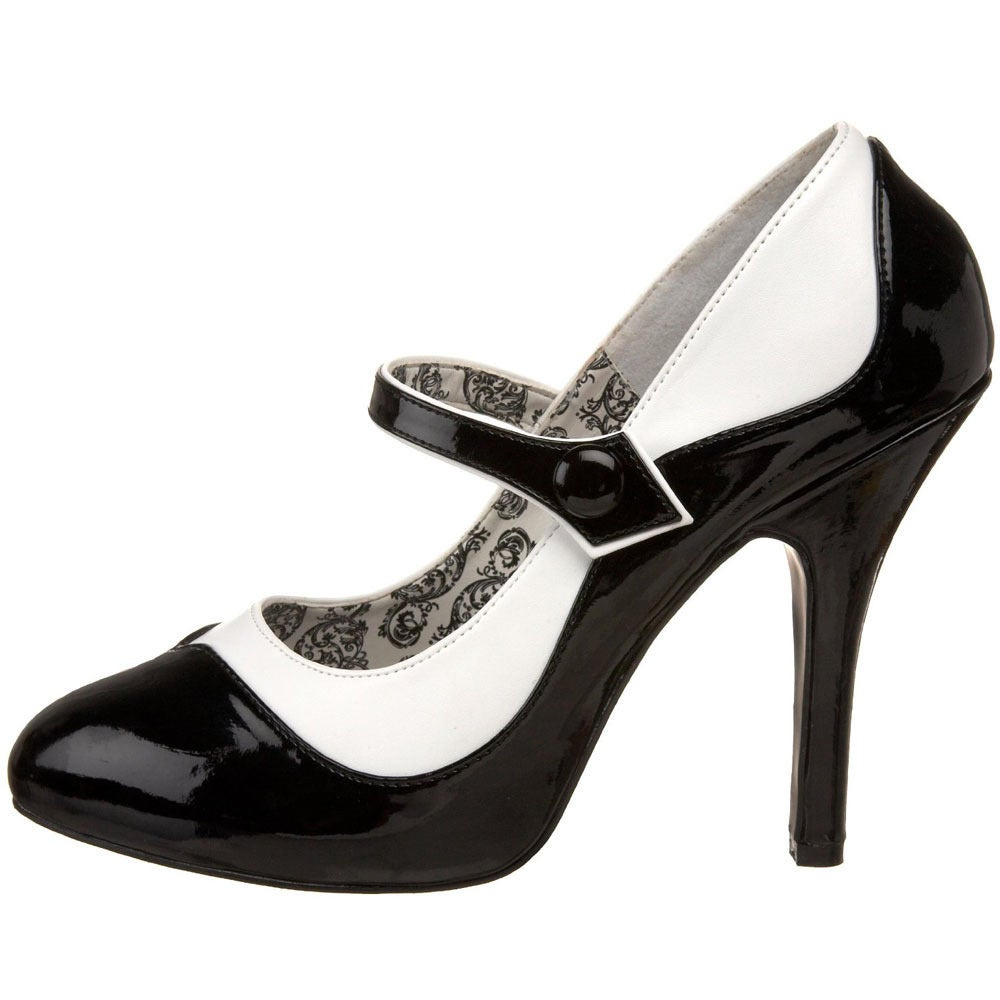 Bordello Tempt-07 Women's 4.5-inch Heel 2-tone Maryjane with Concealed  Platform - Free Shipping Today - Overstock.com - 15640484
