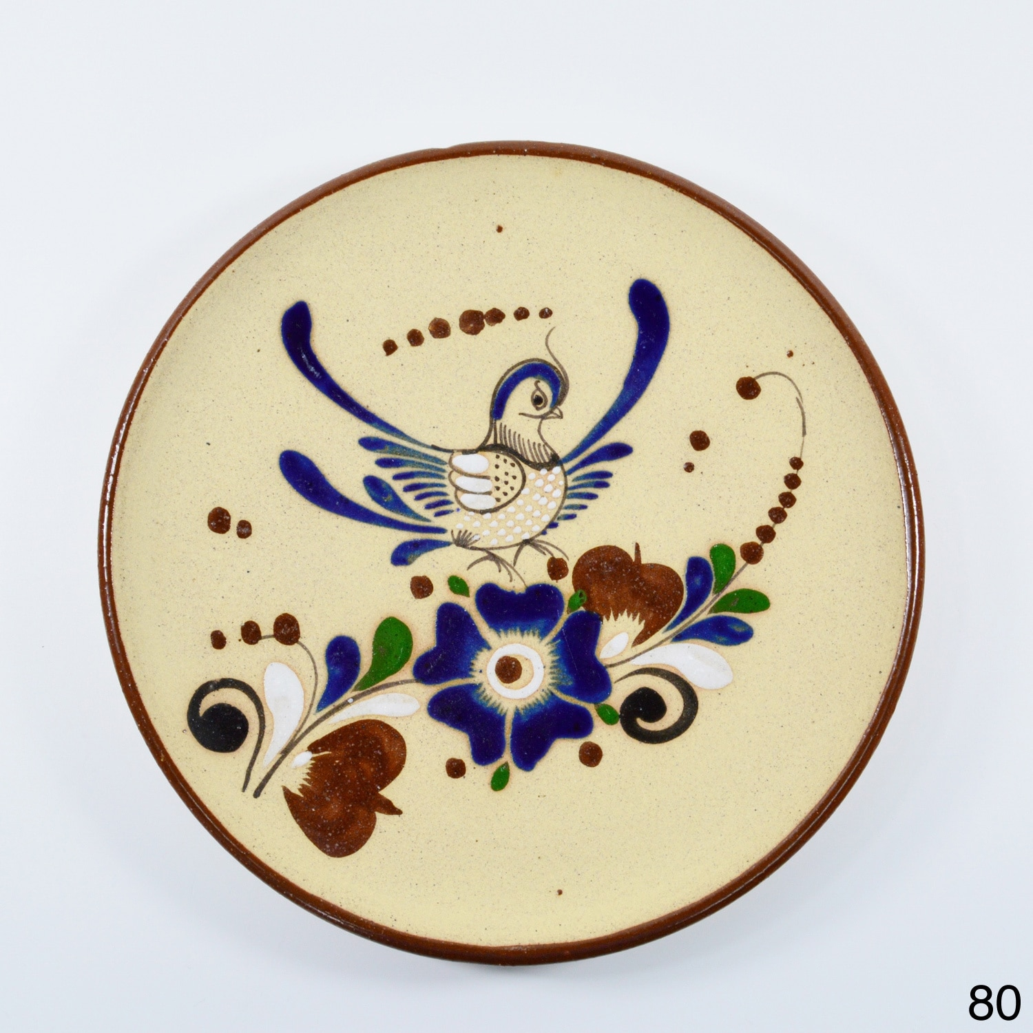 Shop Handmade Clay Decorative Plate (Mexico) - Free Shipping On ...