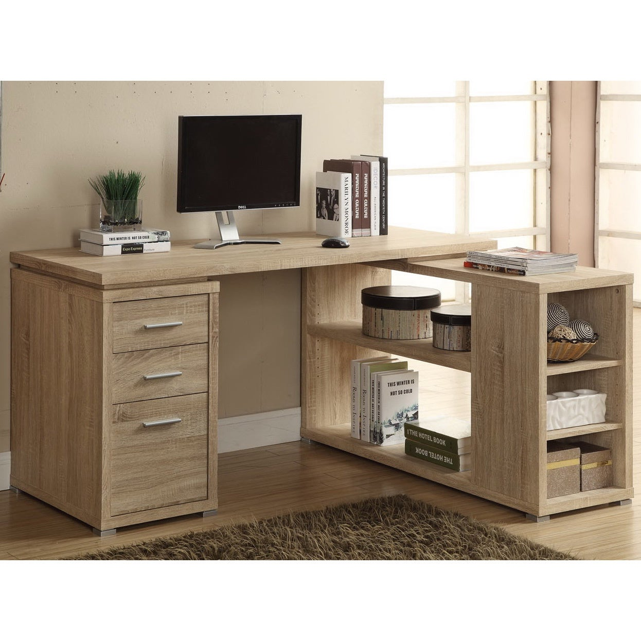with desk drawers desks drawer computer spaces corner small ikea bedroom for amazon