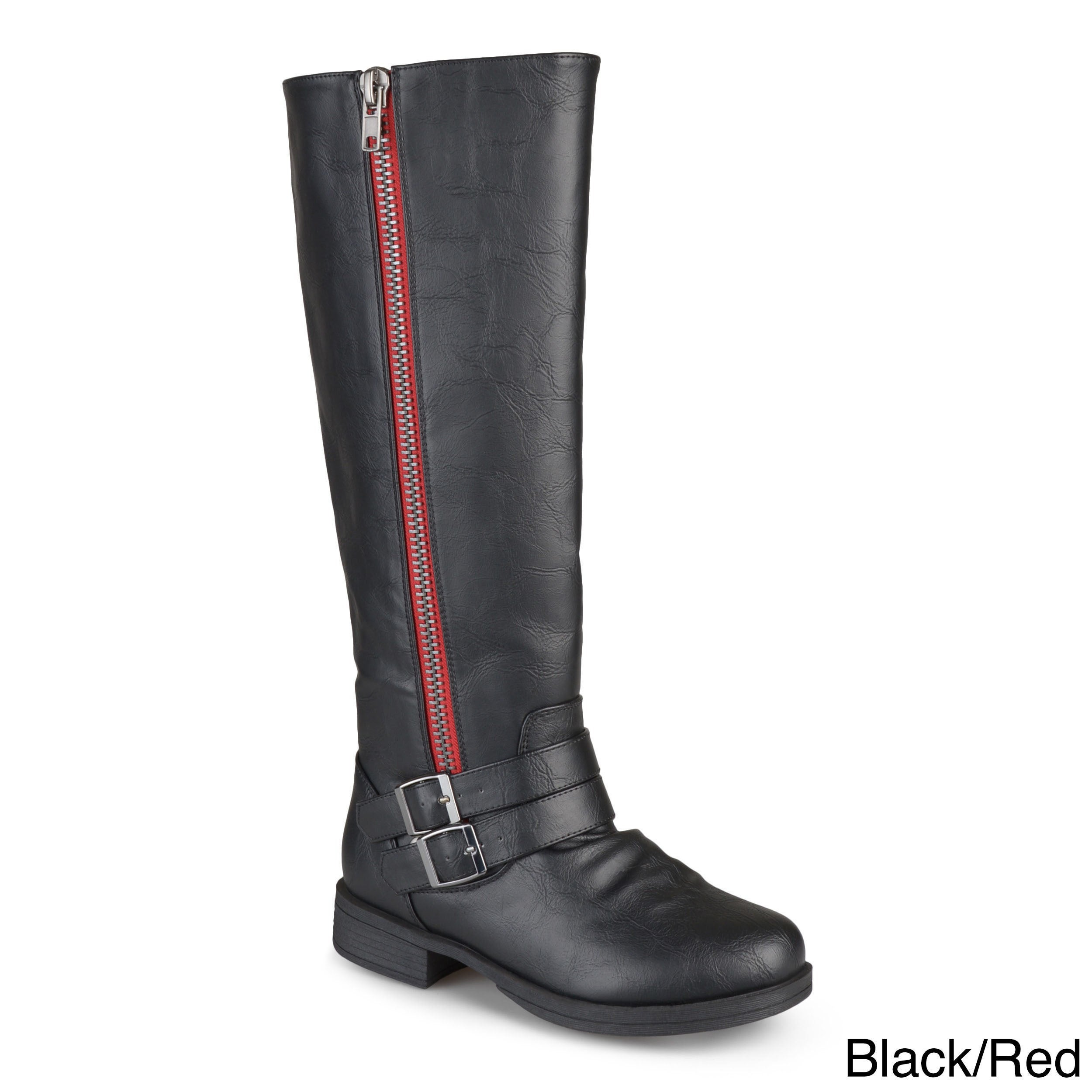 de66020ba68 Shop Journee Collection Women s  Lady  Regular and Wide-calf Riding Boot -  On Sale - Free Shipping Today - Overstock - 8342882