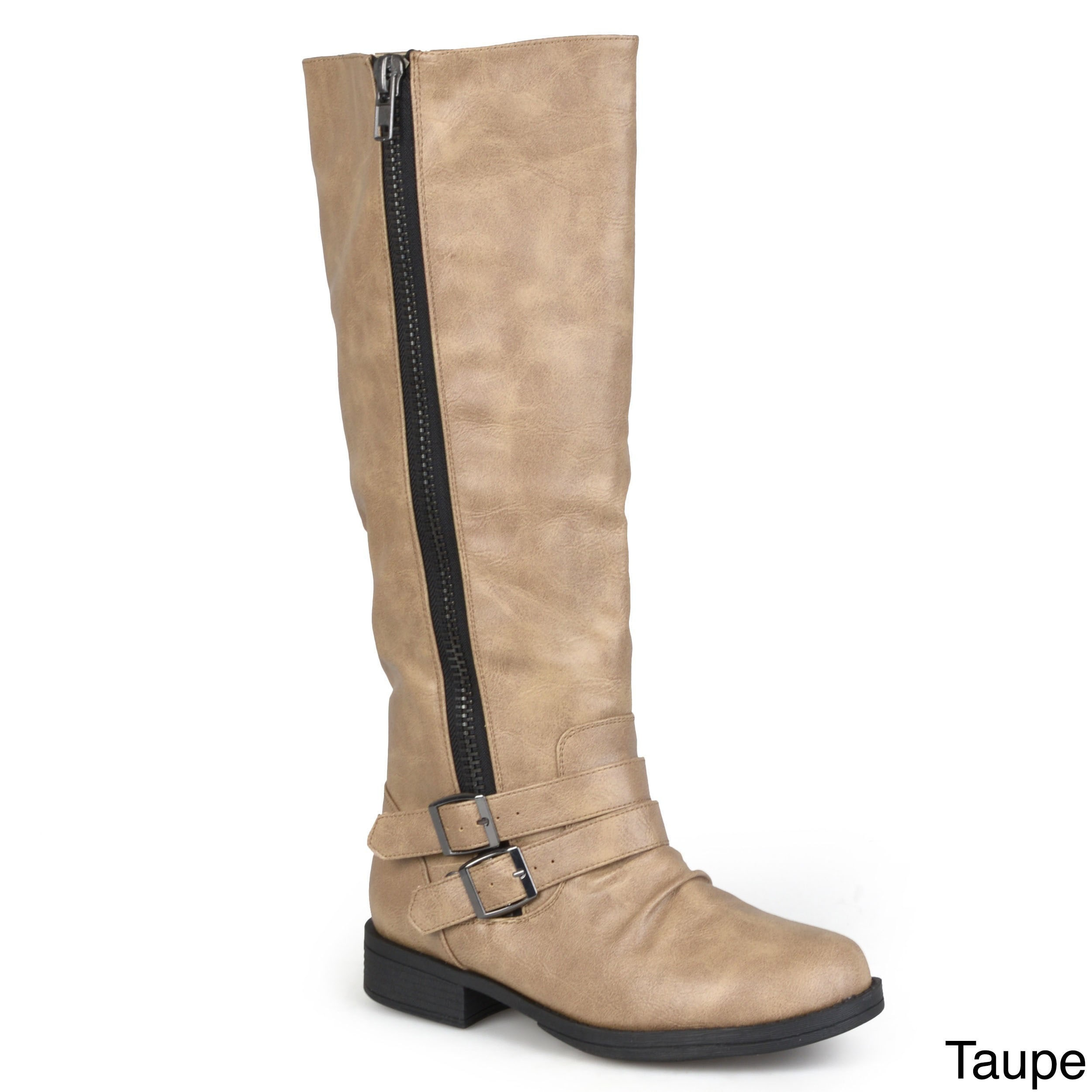 f0dccb3a01270 Shop Journee Collection Women's 'Lady' Regular and Wide-calf Riding Boot - Free  Shipping Today - Overstock - 8342882