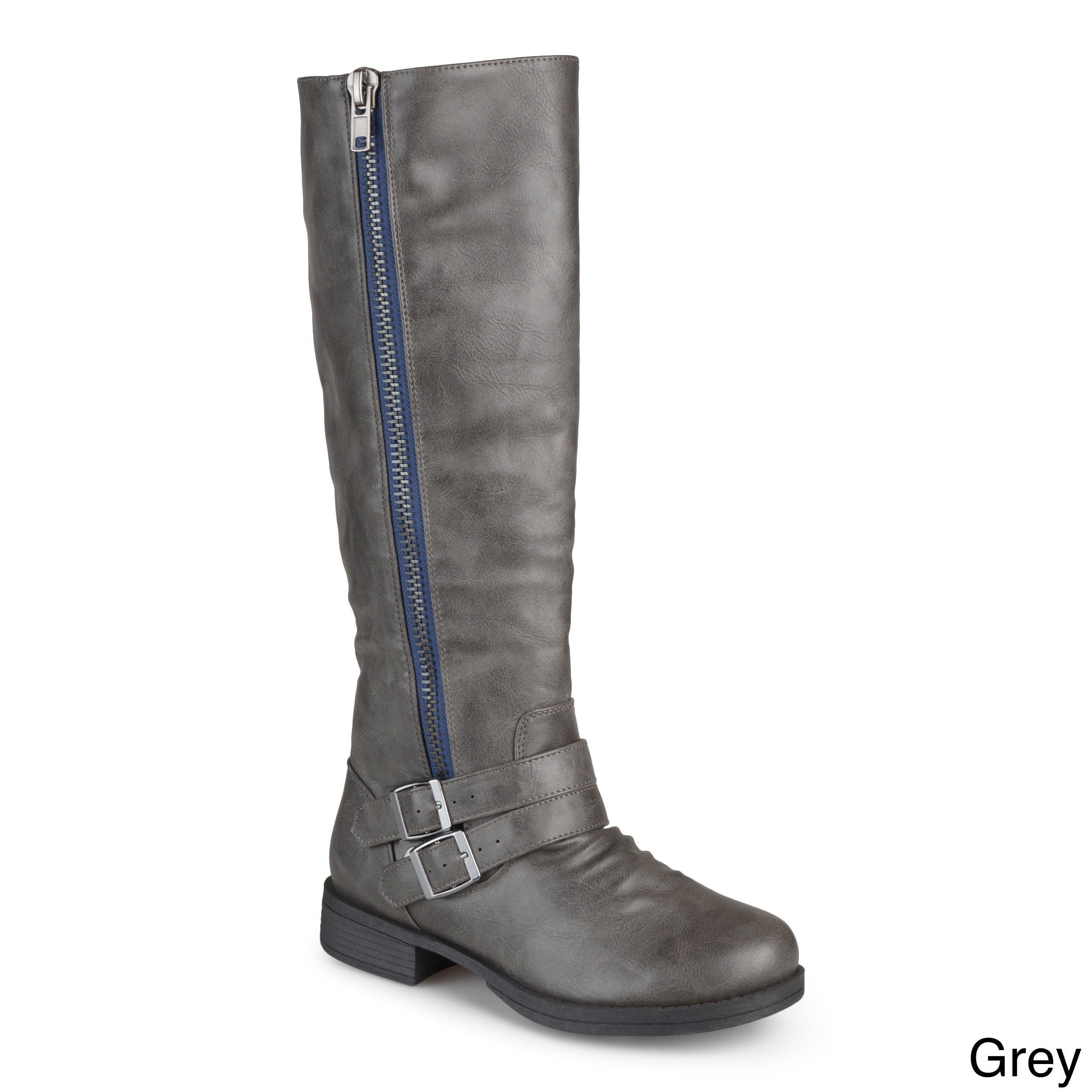 8d4ab6e05ced Shop Journee Collection Women s  Lady  Regular and Wide-calf Riding Boot -  Free Shipping Today - Overstock - 8342882