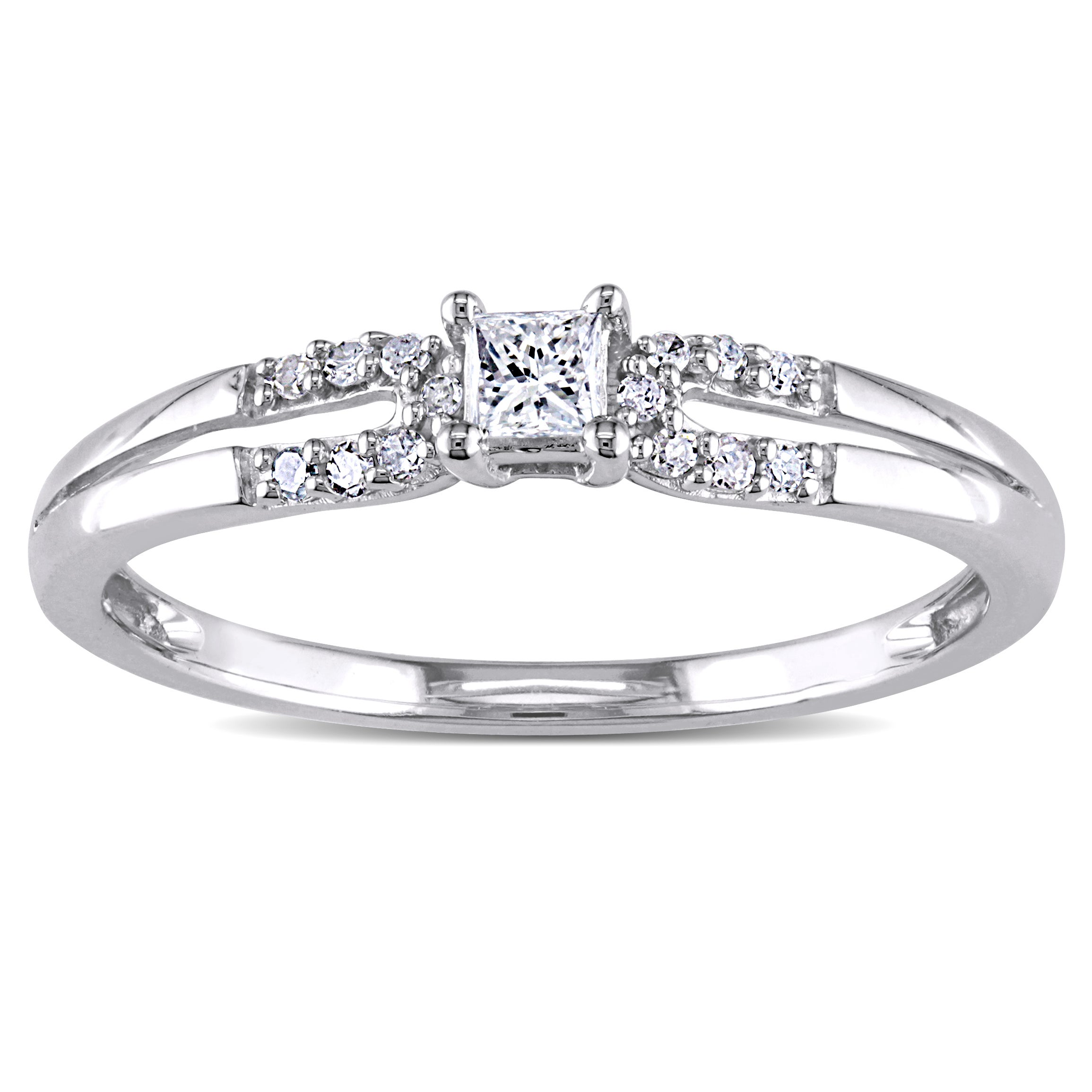 rings melody engagement promise diamond keepsake wedding walmart new