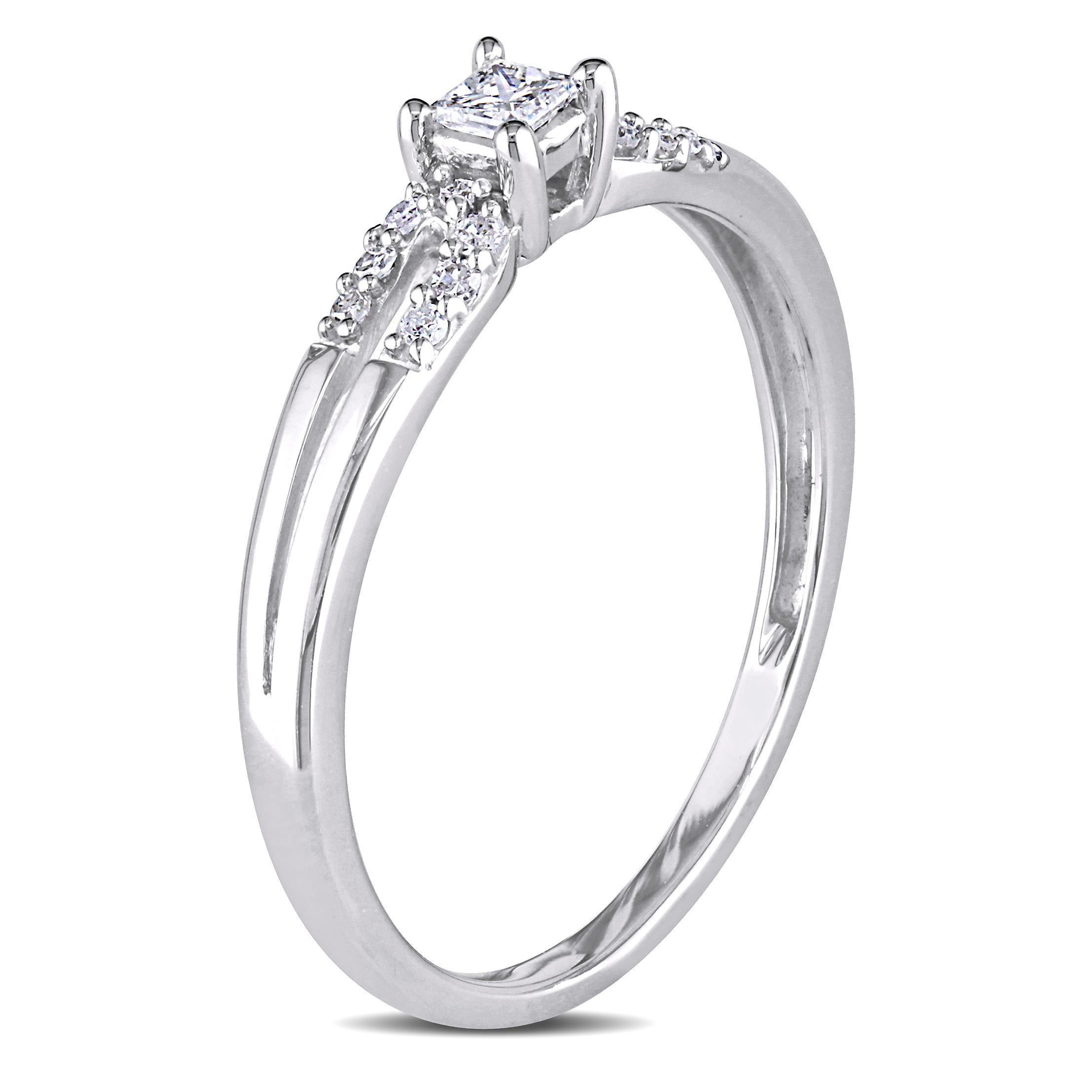 sterling promise ip diamond cut ring princess solitaire accent walmart rings com miabella silver