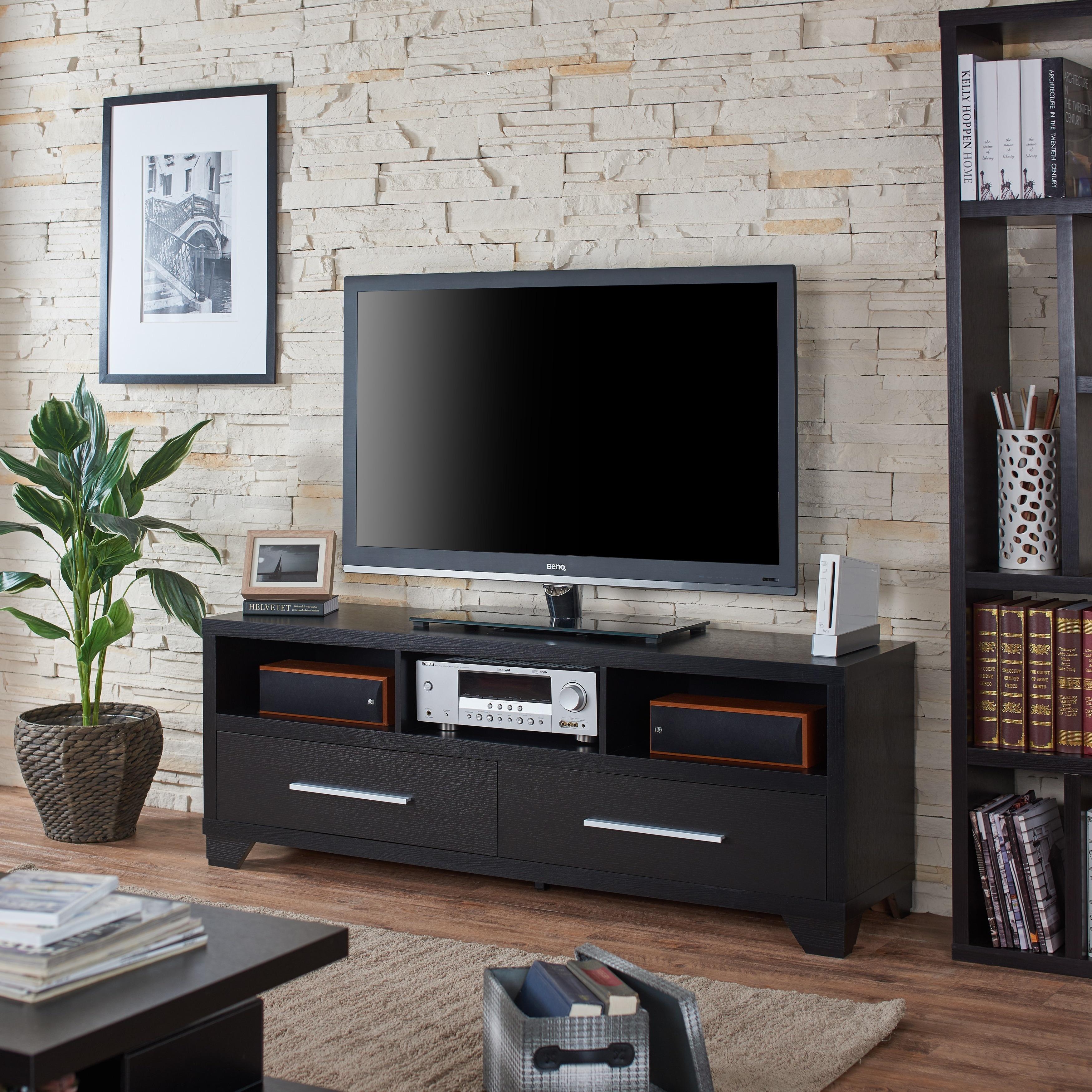 Shop Furniture of America Drewslee Modern Black
