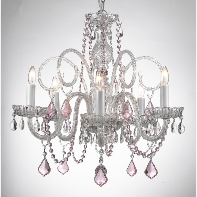 Shop gallery venetian style all crystal chandelier with color shop gallery venetian style all crystal chandelier with color crystal free shipping today overstock 8345197 aloadofball Image collections