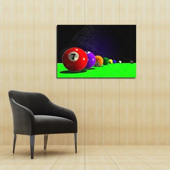 Maxwell Dickson \'Billiard Balls\' Canvas Wall Art - Free Shipping ...