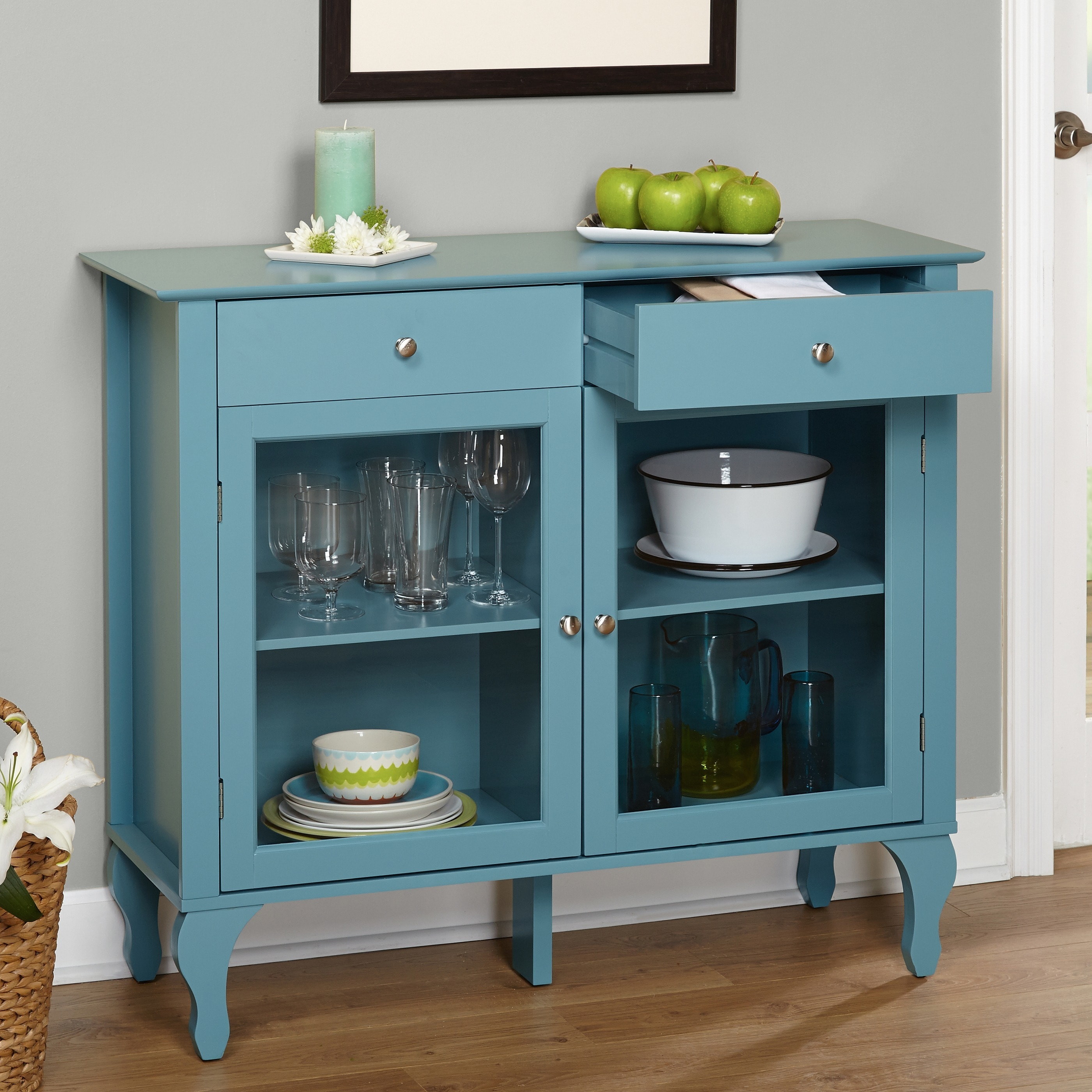 Shop Simple Living Layla Antique Buffet - Free Shipping Today ...