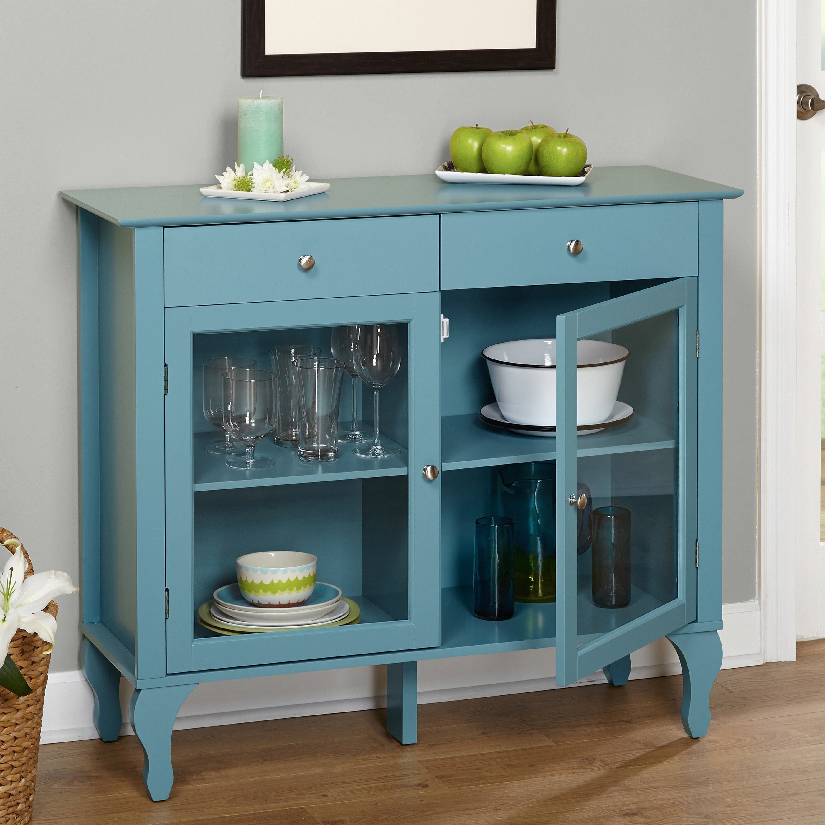 Shop Simple Living Layla Antique Buffet - On Sale - Free Shipping ...