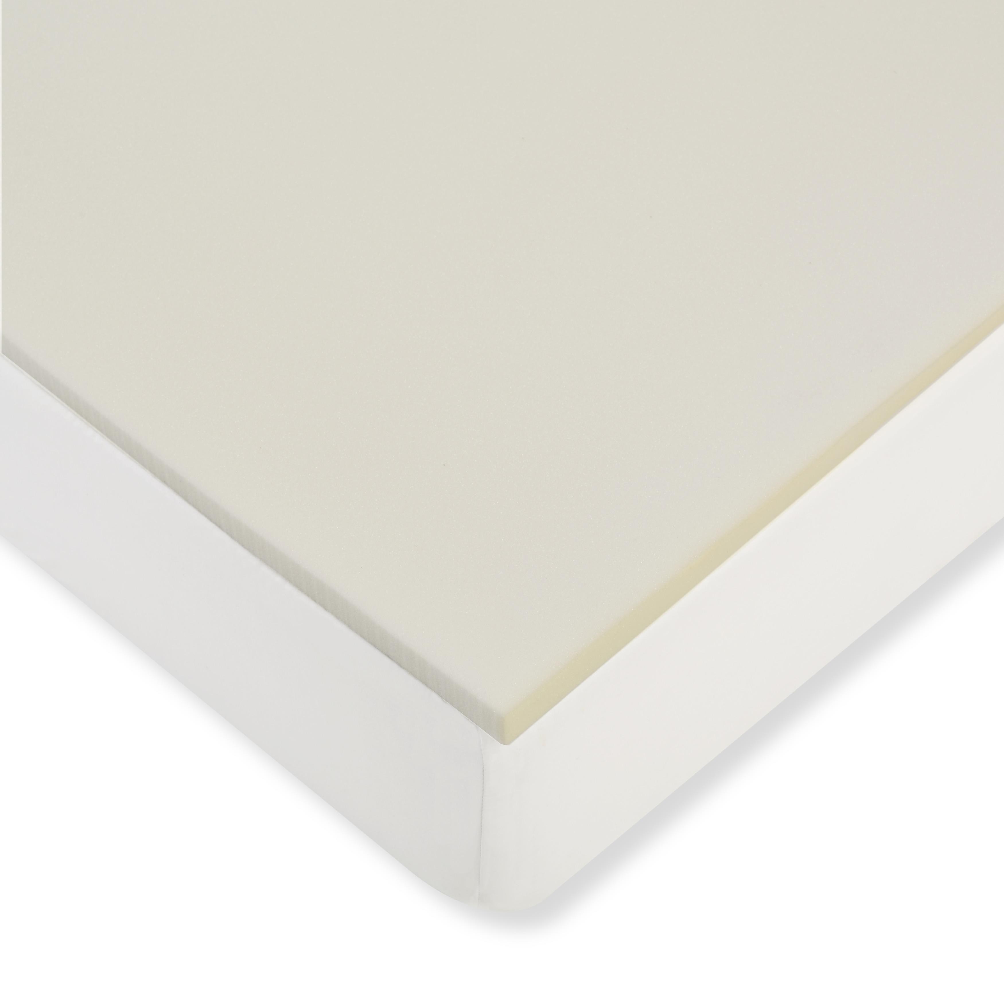 bath topper bed mattress wayfair gel foam pdx lucid memory reviews