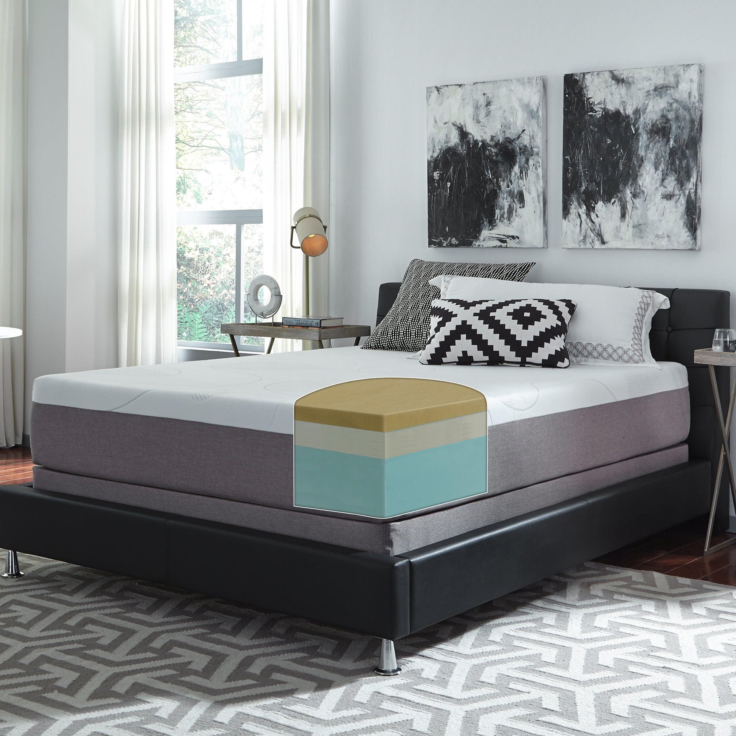 Slumber Solutions Choose Your fort 12 inch Queen Memory Foam