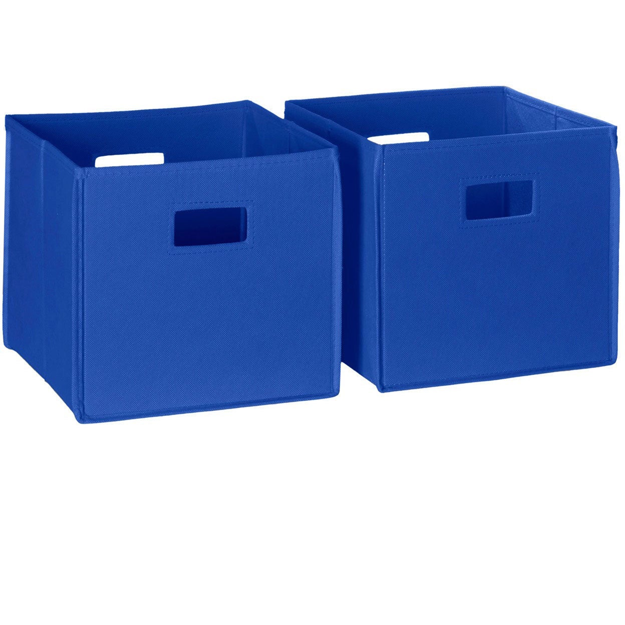 Merveilleux Shop RiverRidge Kids Folding Storage Bins With Handles (Set Of 2)   Free  Shipping On Orders Over $45   Overstock.com   8352538