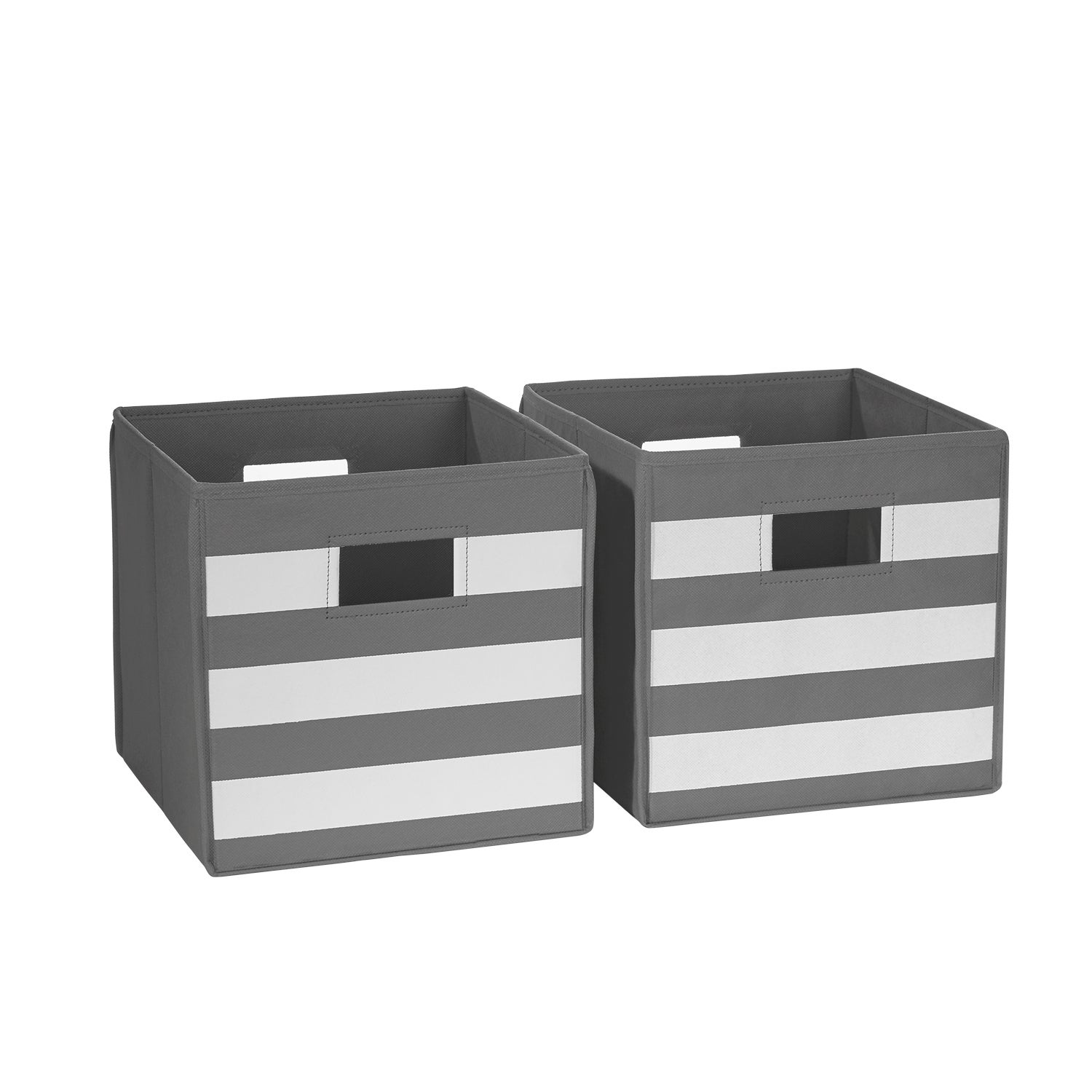 Delicieux Shop RiverRidge Kids Folding Storage Bins With Handles (Set Of 2)   Free  Shipping On Orders Over $45   Overstock.com   8352538