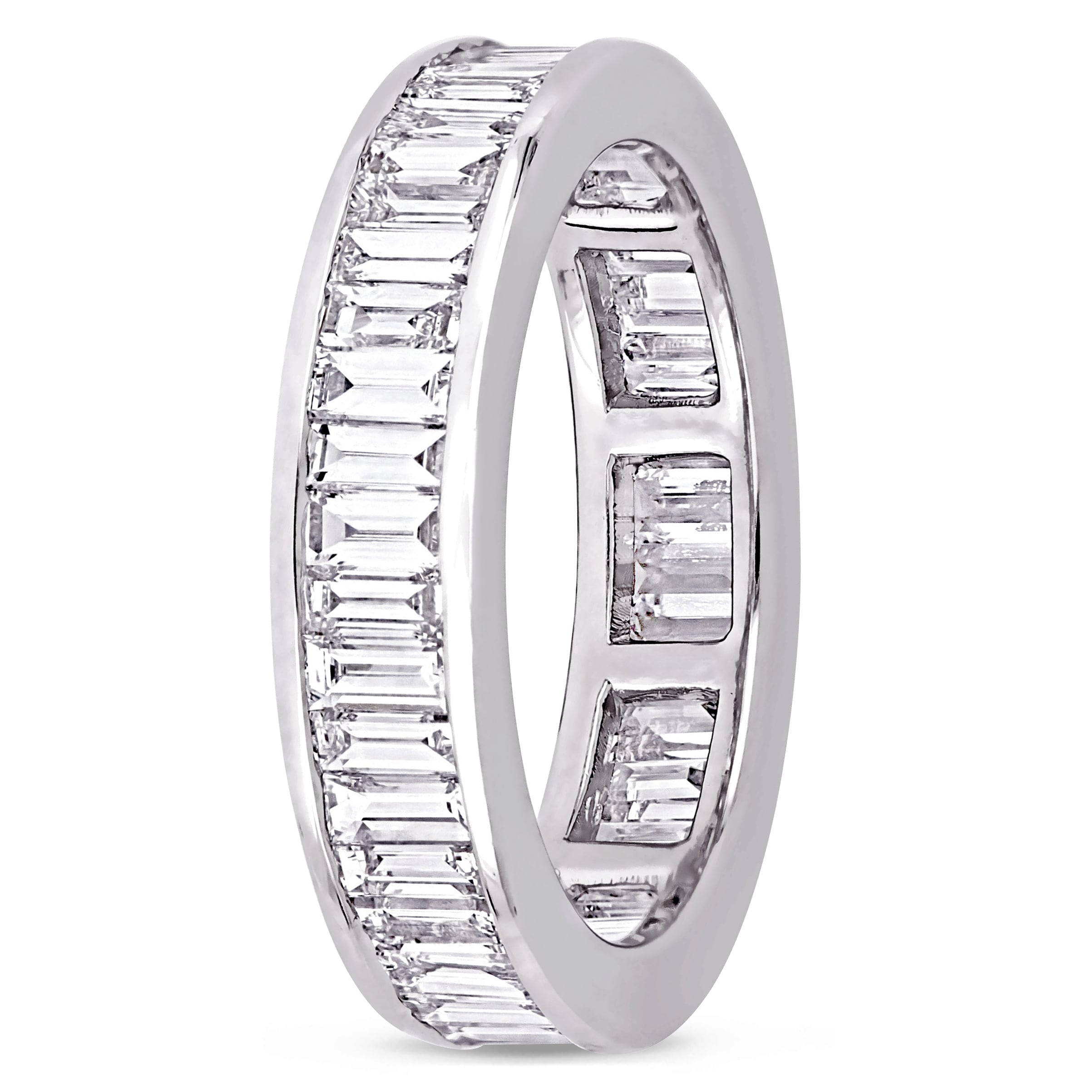 band side and bands diamond platinum eternity channel encircle bridal prong cp signature collections set love view baguette
