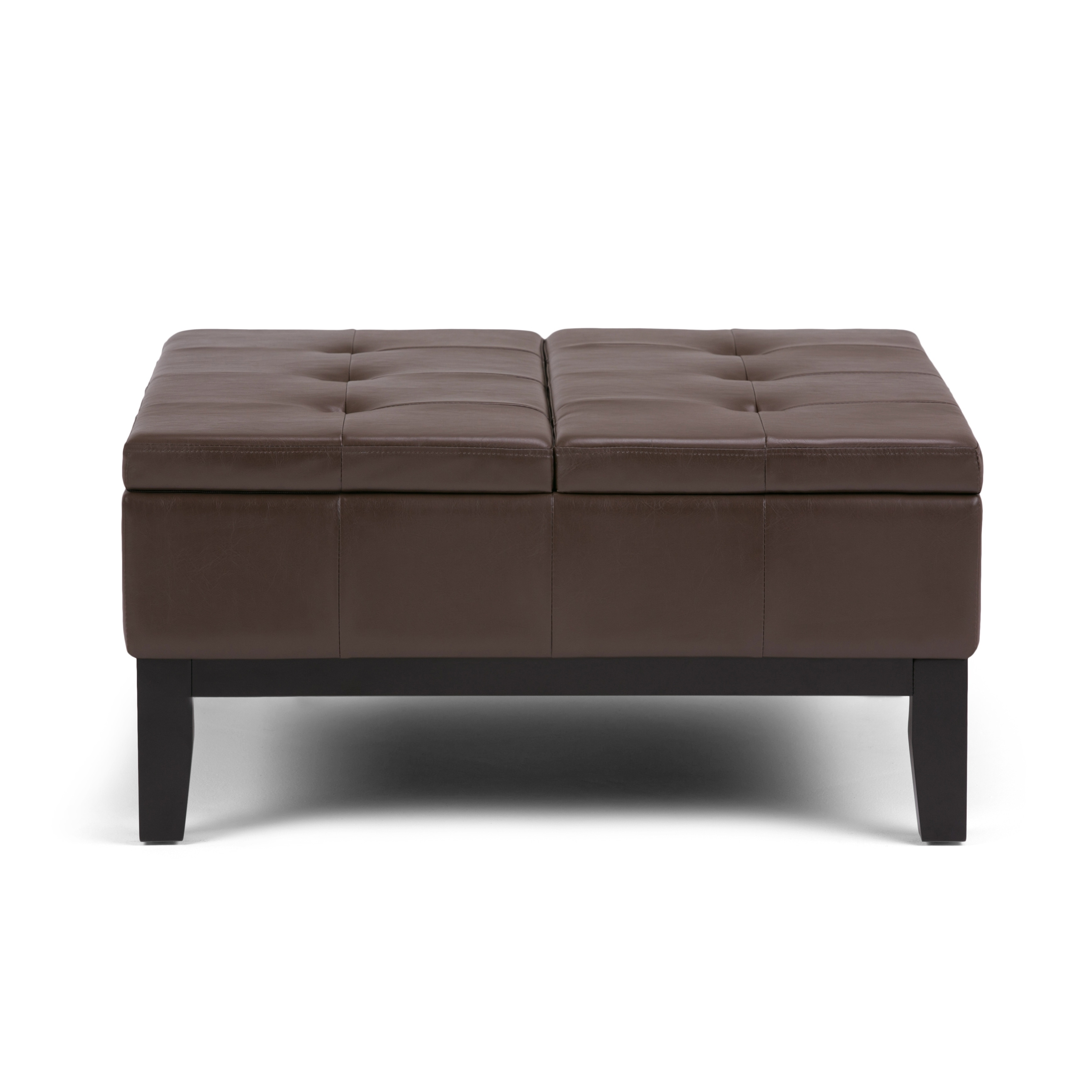 WYNDENHALL Lancaster Square Coffee Table Ottoman and Split lift
