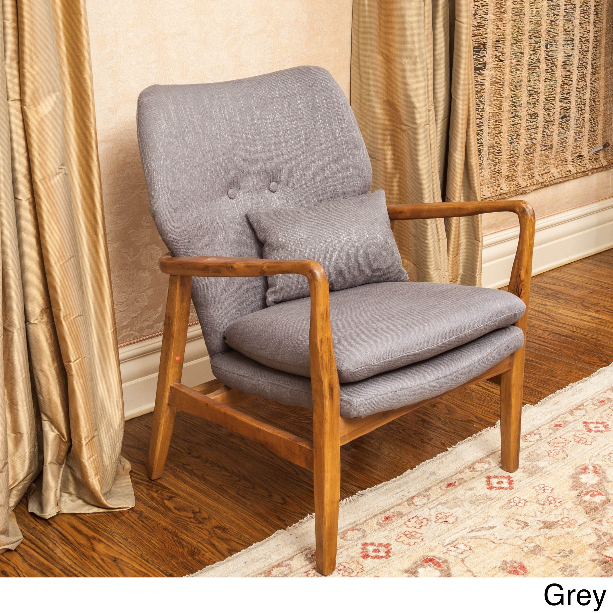 Had Wood Frame Club Chair By Christopher Knight Home On Free Shipping Today 8361928